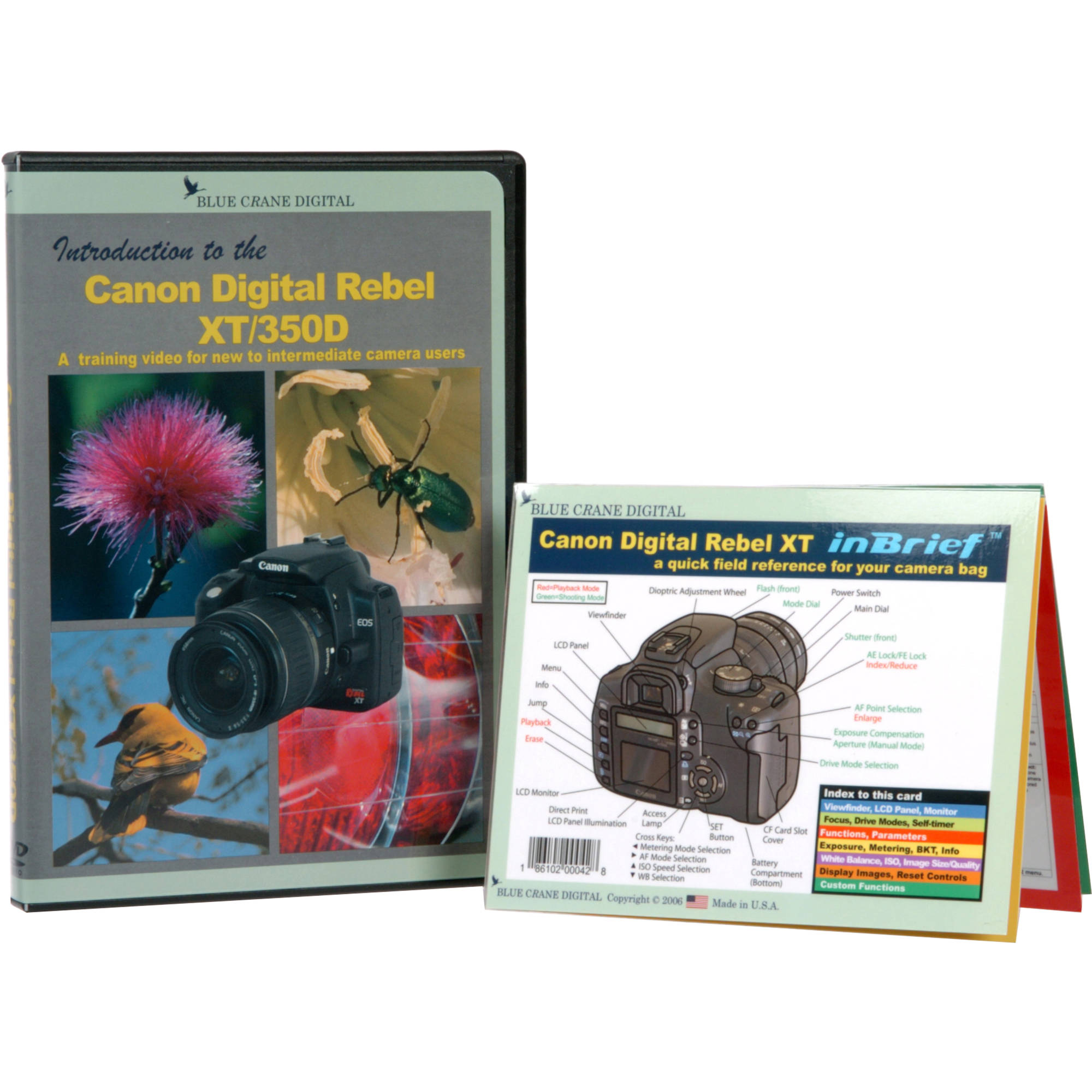DVD and Guide: Combo Pack for the Canon EOS Rebel XT Digital SLR Camera