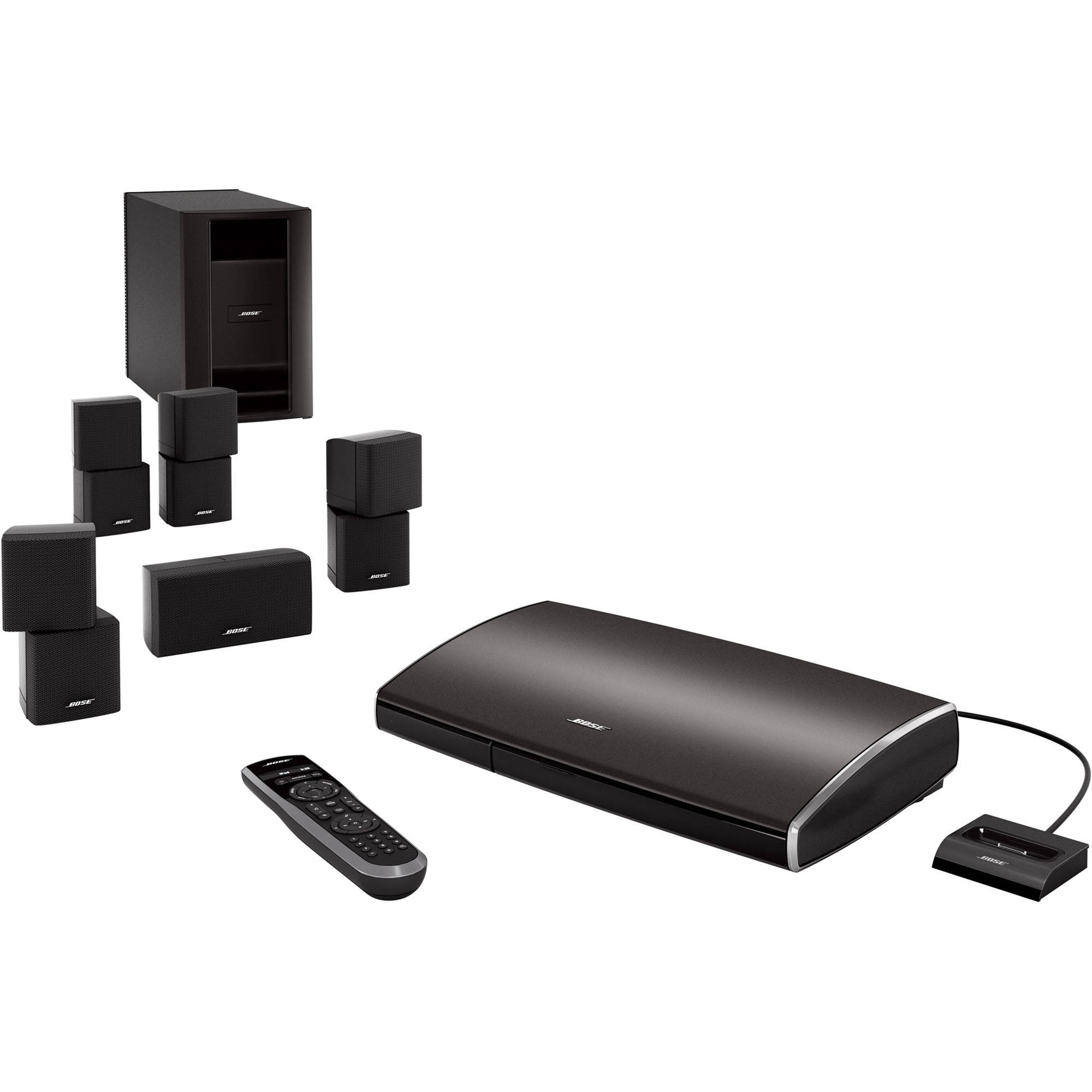 bose lifestyle v25 home entertainment system 318042