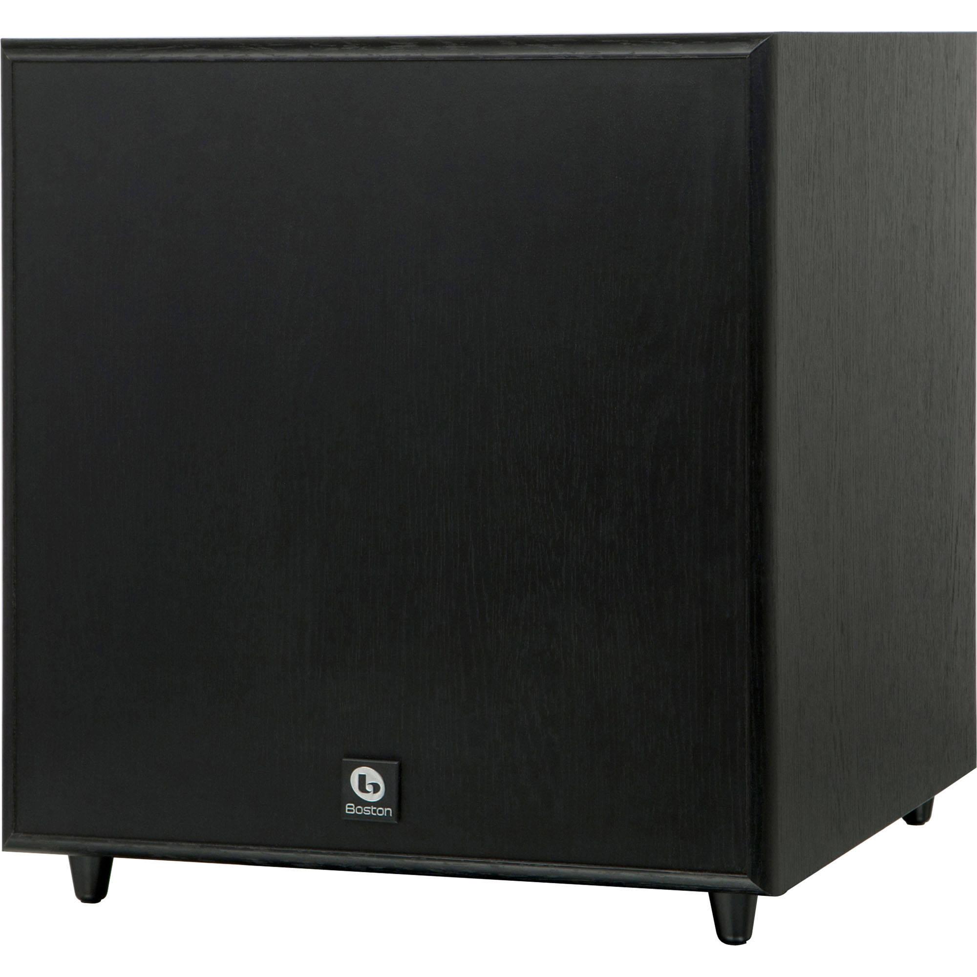 boston acoustics classic series sub10 ii cssub10iib 01201 b h. Black Bedroom Furniture Sets. Home Design Ideas