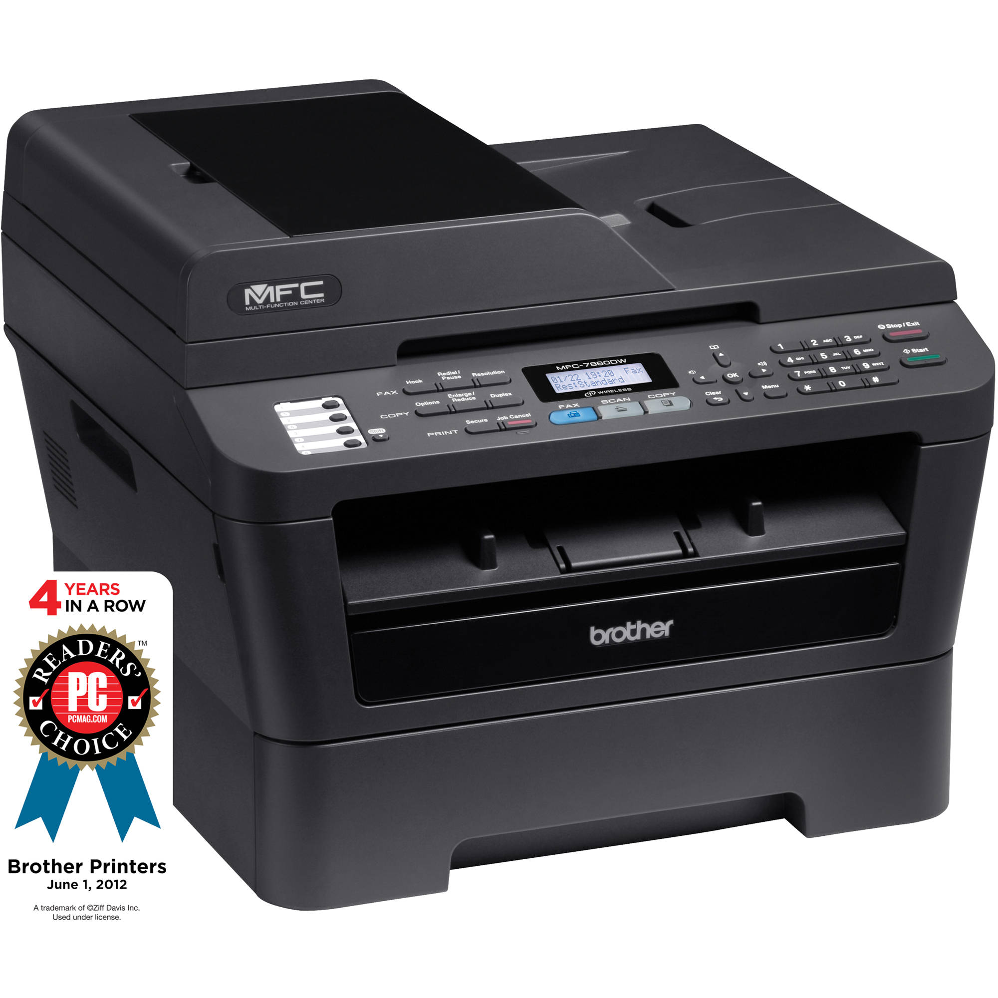 Driver UPDATE: Brother MFC-7860DW Printer/Scanner