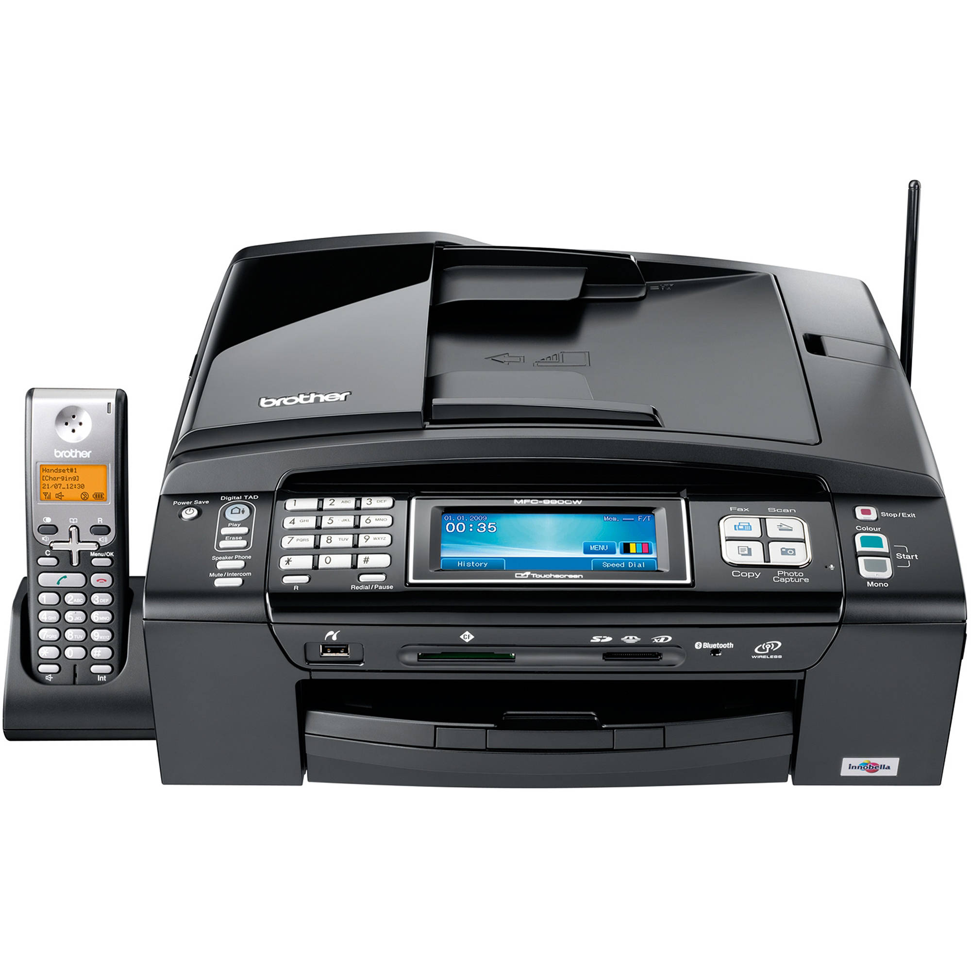 Brother MFC 990CW Wireless All In One Color Inkjet MFC