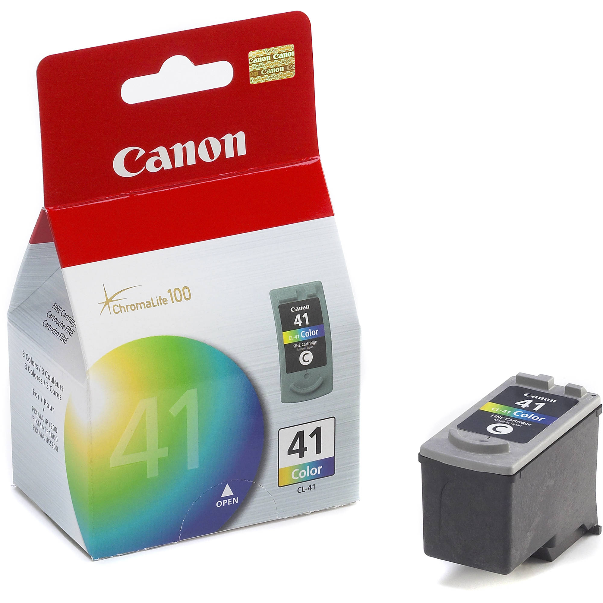 Canon CL-41 Tri-Color Ink Tank 0617B002 B&H Photo Video