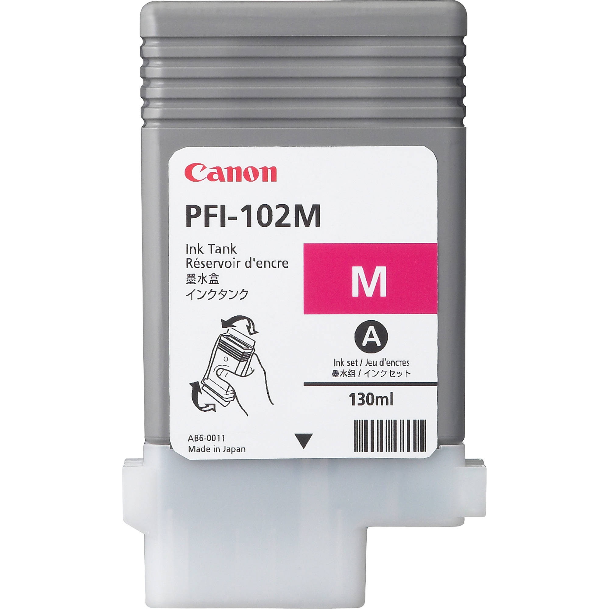 Canon PFI 102M Magenta Ink Tank 130 Ml 0897B001AA BampH Photo