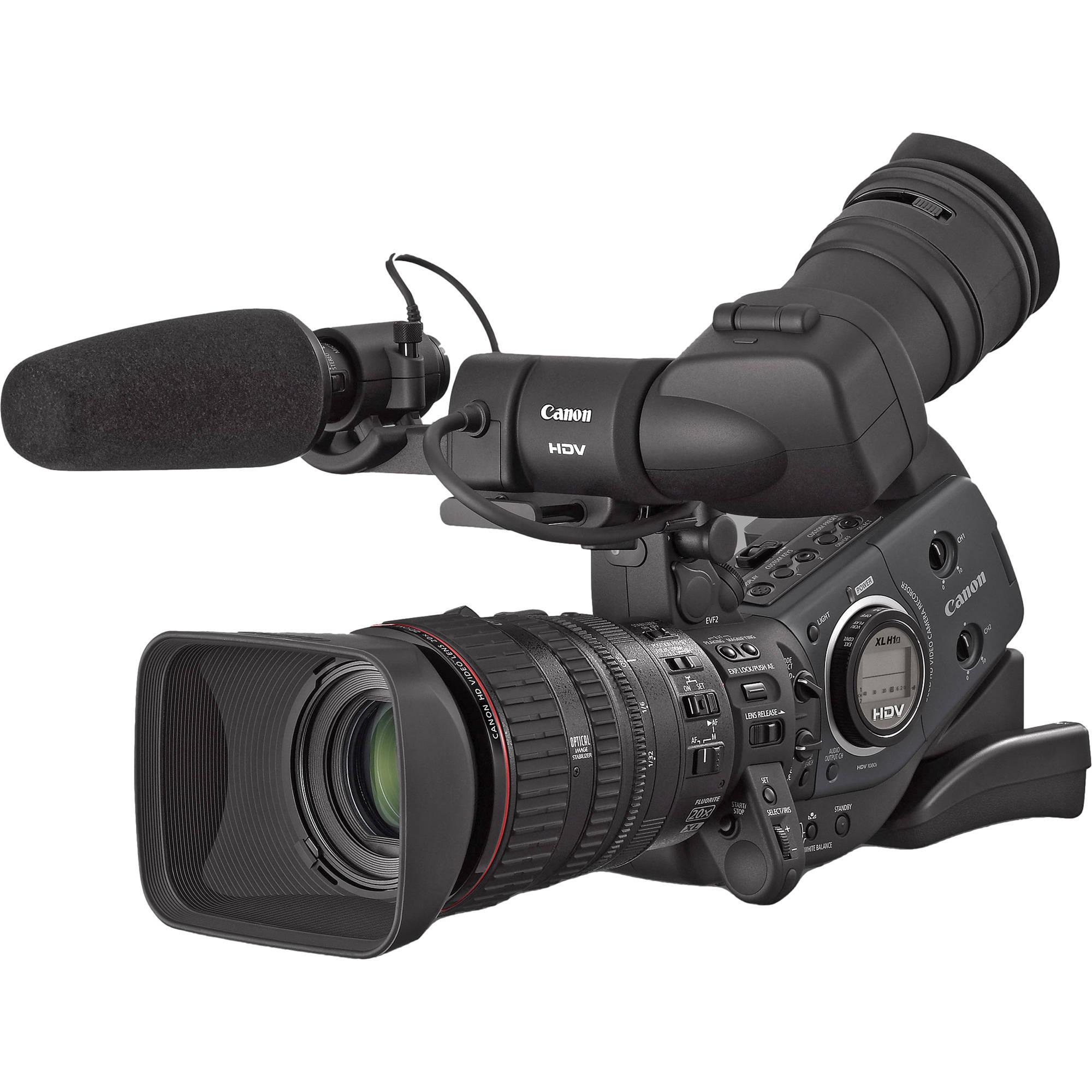 canon xl h1a 3 ccd high definition camcorder 3249b001 b h photo rh bhphotovideo com canon xl h1a manual pdf Canon XL Professional