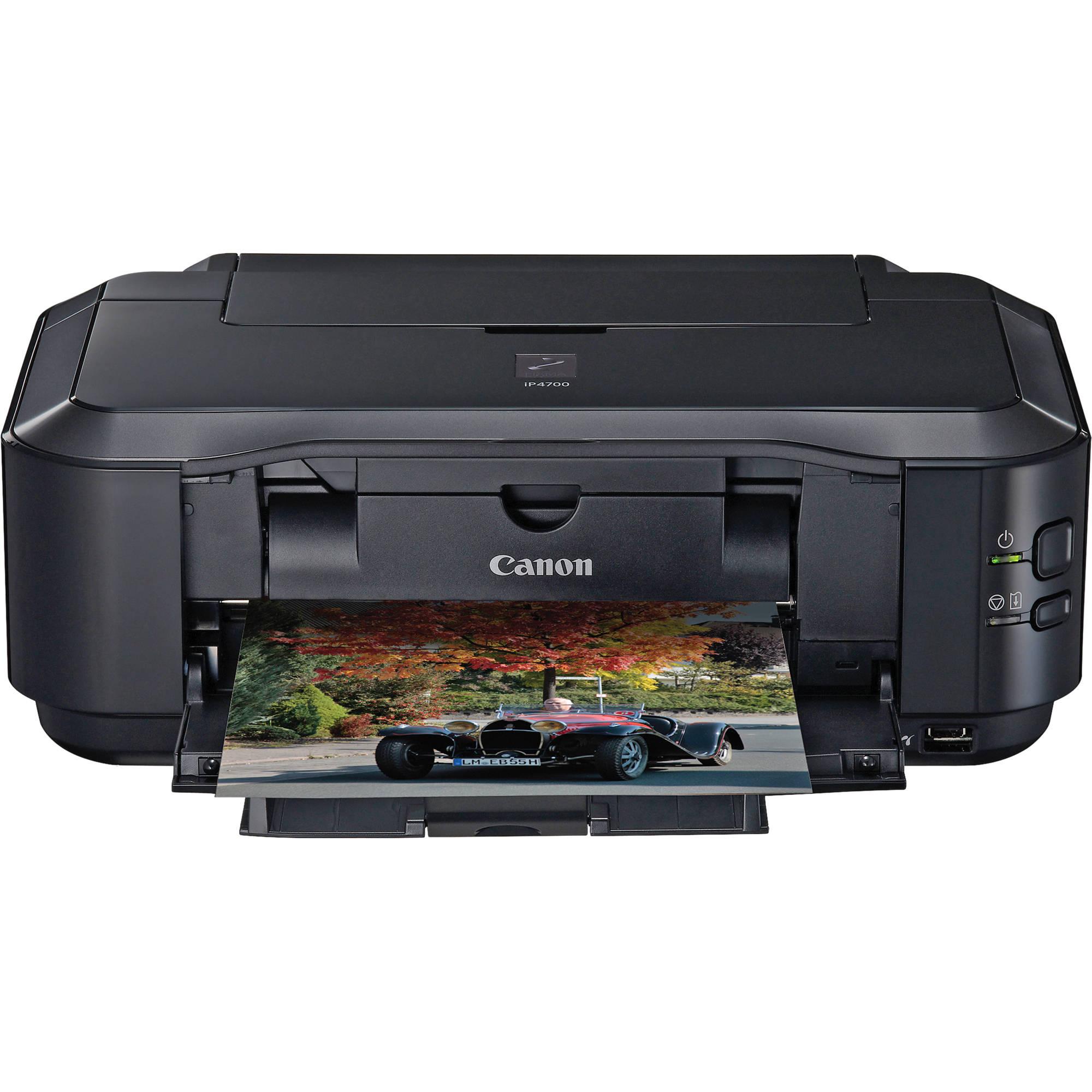 Canon pixma ip4700 photo printer