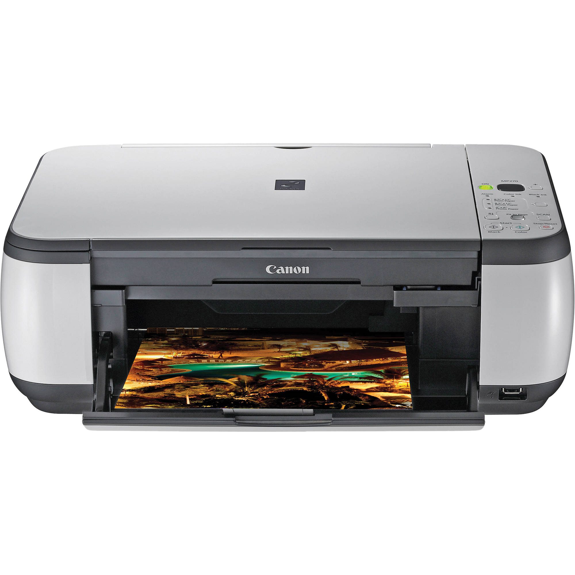 canon pixma mp270 all in one photo printer 3744b002 b h photo. Black Bedroom Furniture Sets. Home Design Ideas