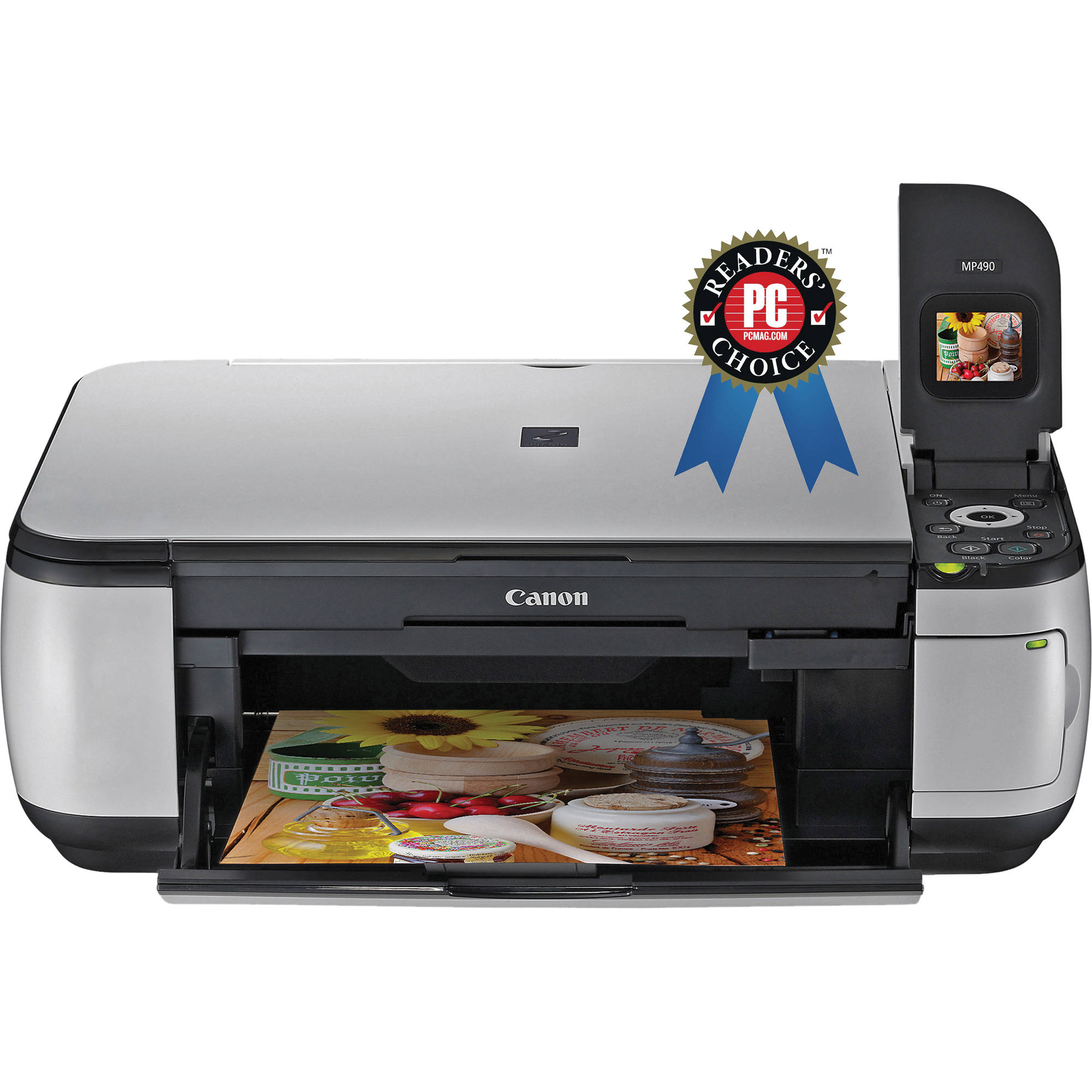 Canon Pixma MP490 Photo All-In-One Printer