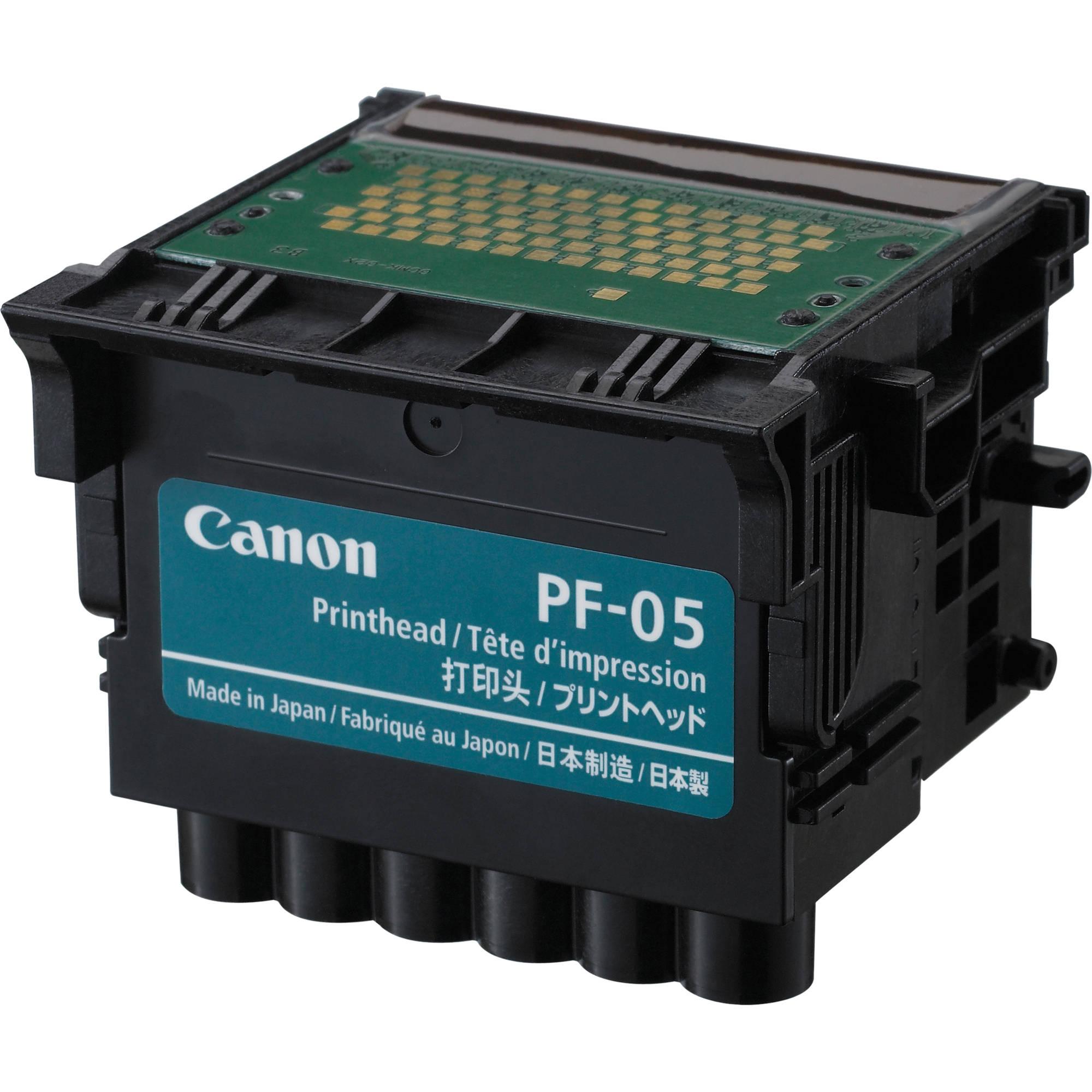 Canon PF05 print heads