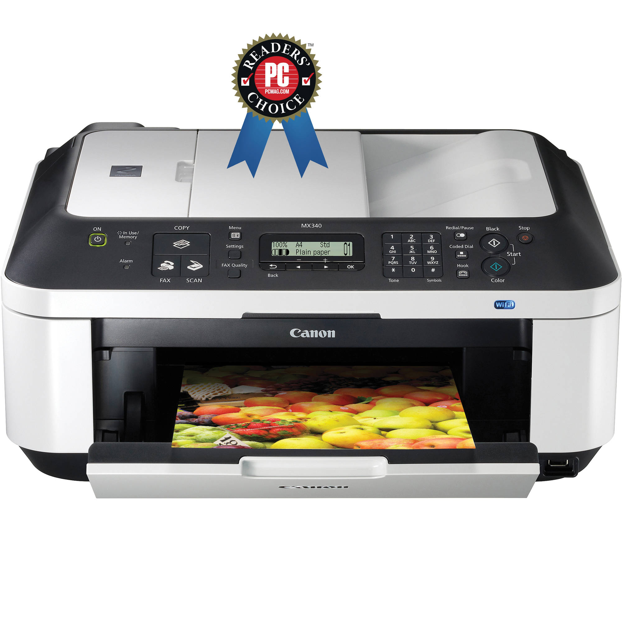 canon pixma mx340 wireless all in one photo printer 4204b019 b h rh bhphotovideo com Canon MX340 Manual PDF Canon MX340 Manual PDF