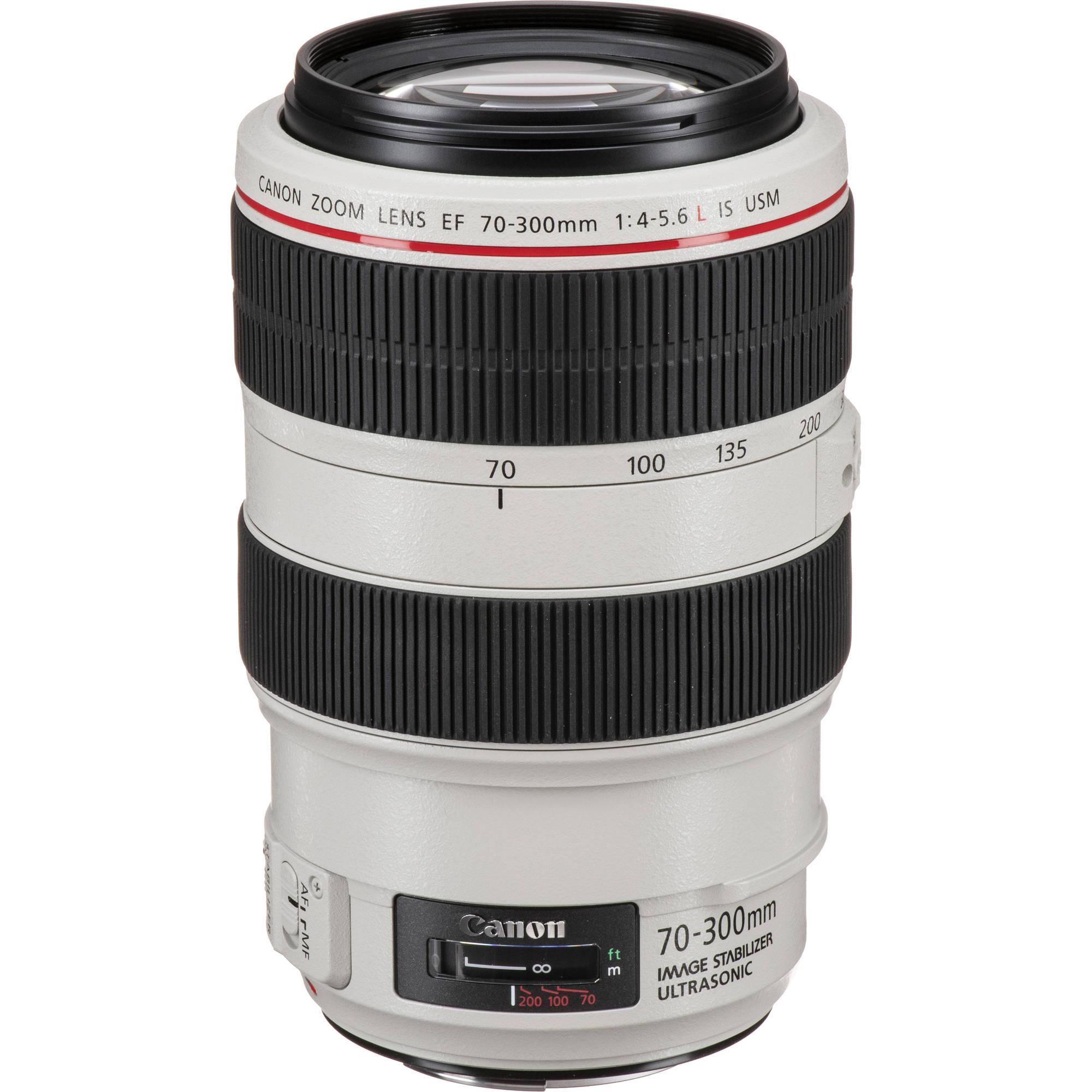 canon ef 70 300mm f 4 5 6l is usm lens 4426b002 b h photo video. Black Bedroom Furniture Sets. Home Design Ideas