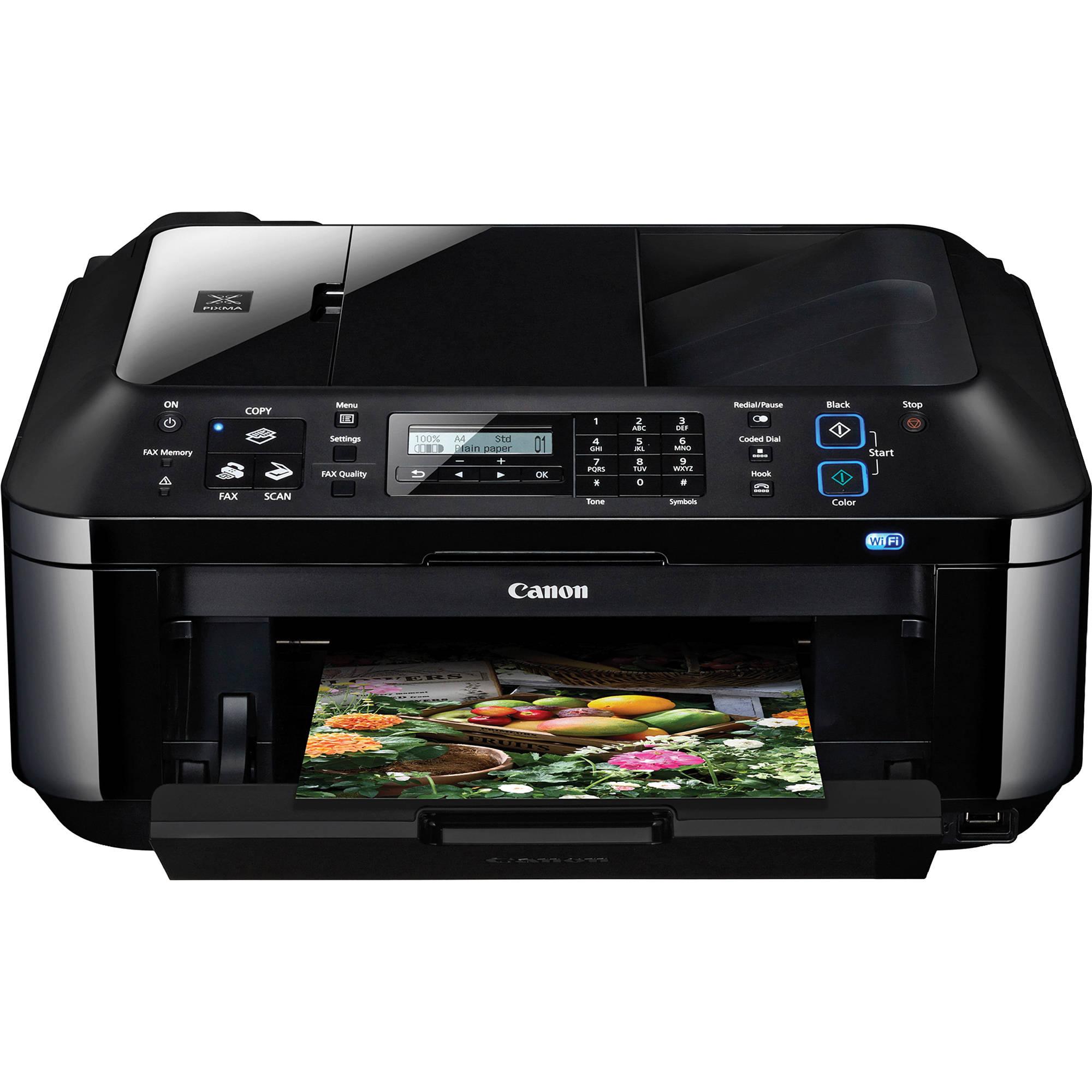 Canon Pixma Mx410 All In One Color Inkjet Office Printer
