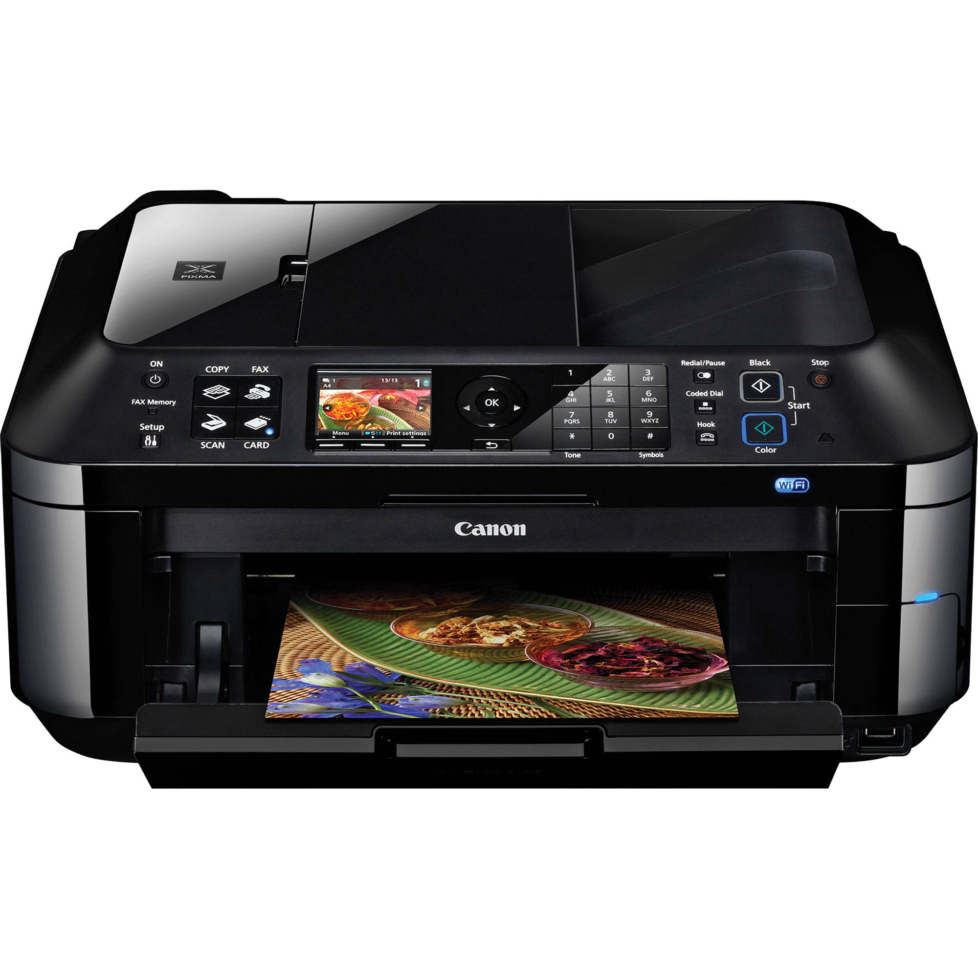 Canon pixma mx420 wireless inkjet office all in one for Best home office inkjet printer