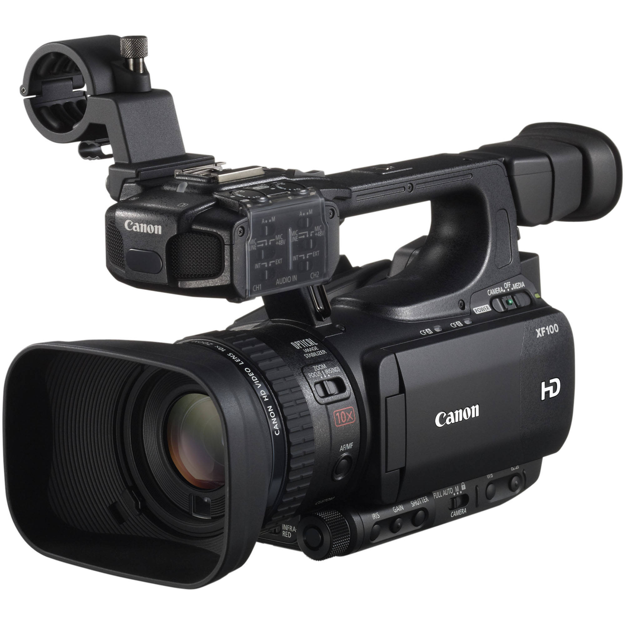 Canon XF100 HD Professional Camcorder 4888B001 B&H Photo Video
