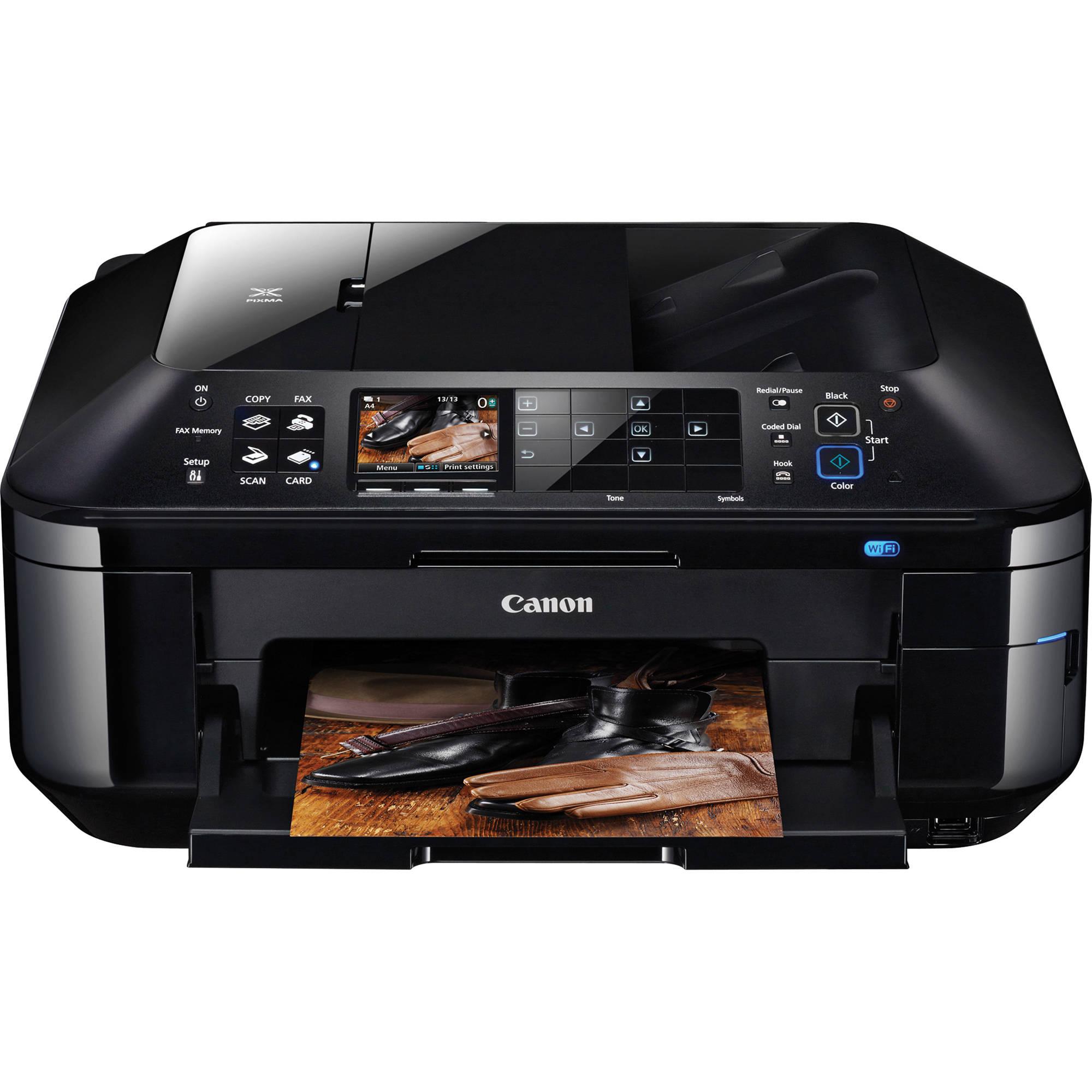 Color printing bu - Canon Pixma Mx882 All In One Inkjet Printer