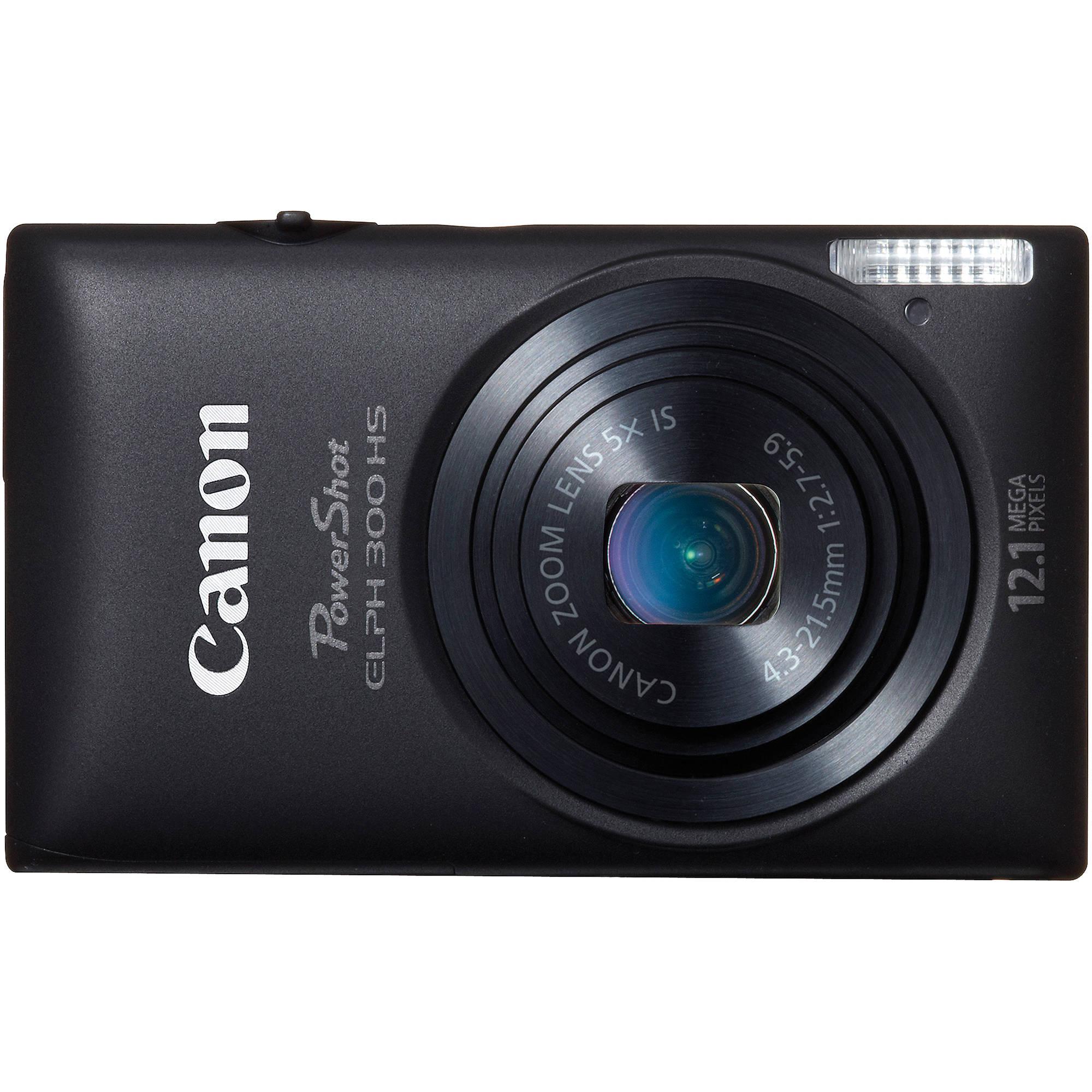 canon powershot 300 hs digital elph camera black 5096b001 b h rh bhphotovideo com canon elph 300 hs user manual canon elph 300 hs manual pdf