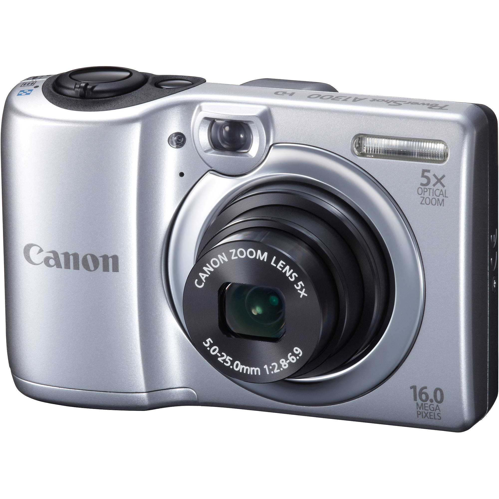 canon powershot a1300 digital camera silver 6177b001 b h photo rh bhphotovideo com canon powershot a1300 digital camera manual Review Canon PowerShot A1300