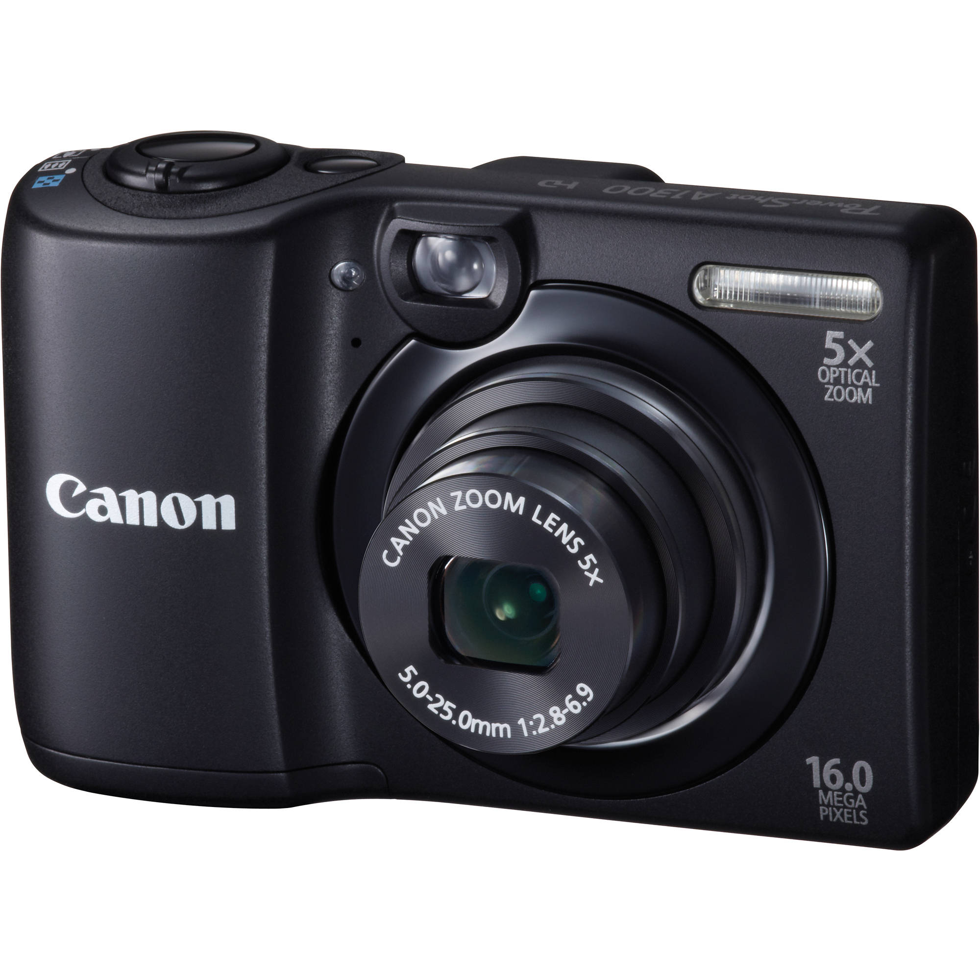 canon powershot a1300 digital camera black 6178b001 b h photo rh bhphotovideo com Review Canon PowerShot A1300 Underwater Case for Canon A1300