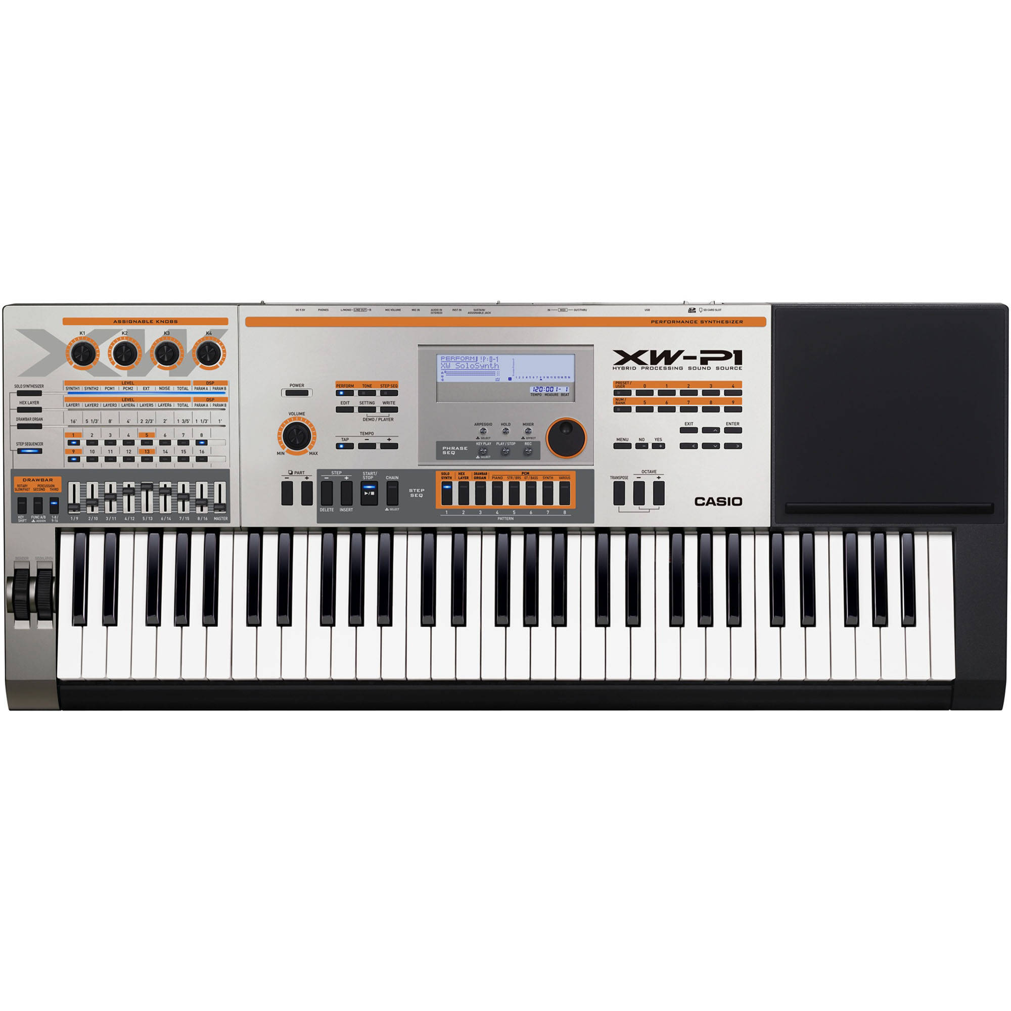 casio xw p1 61 key performance synthesizer xw p1 b h photo video rh bhphotovideo com