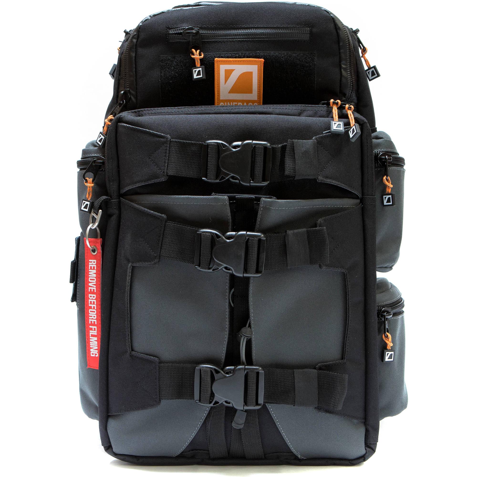 a417bc7cf8 CineBags CB25B Revolution Backpack (Black Charcoal) CB-25B B H