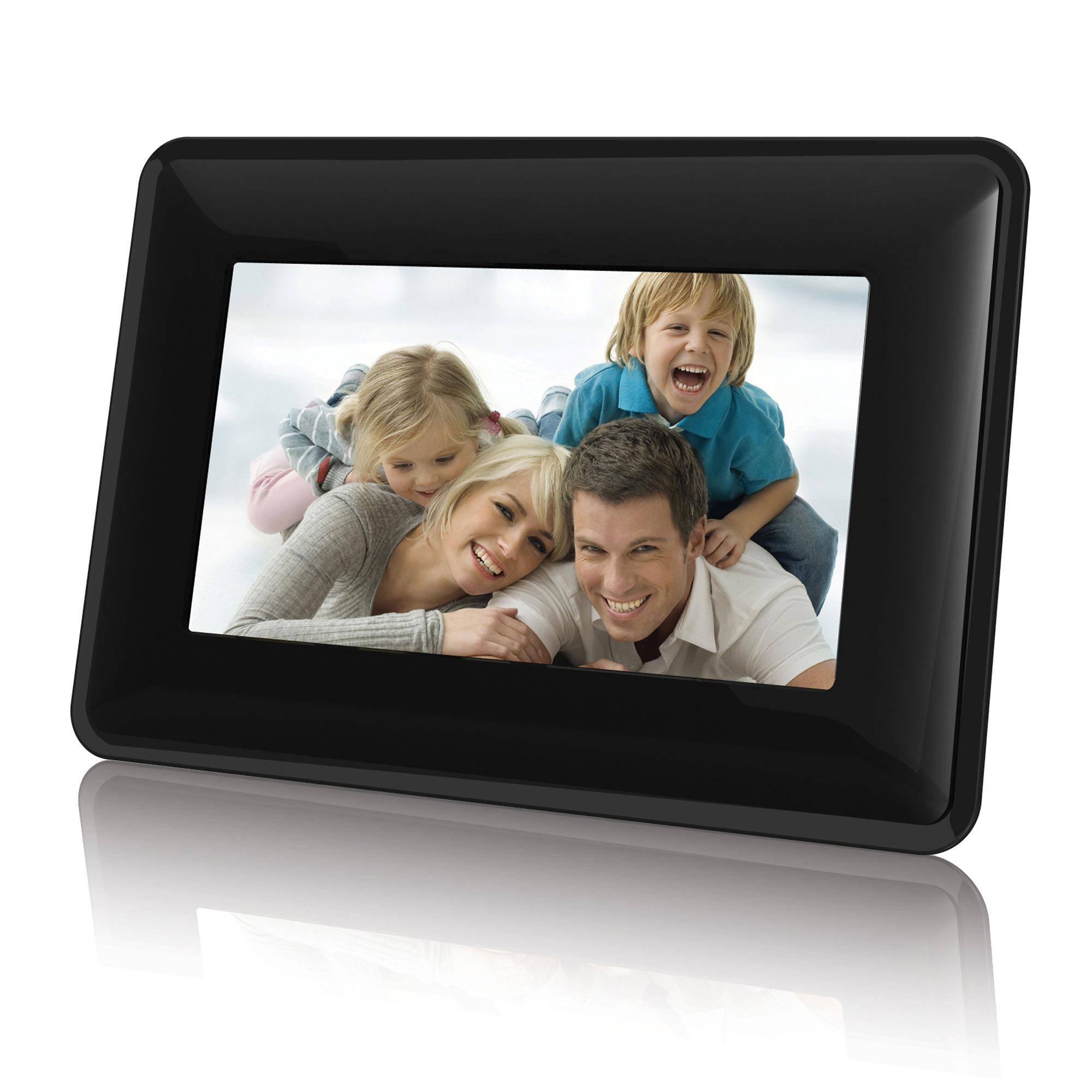 """Coby DP730 7"""" Widescreen Digital Photo Frame (Contemporary)"""