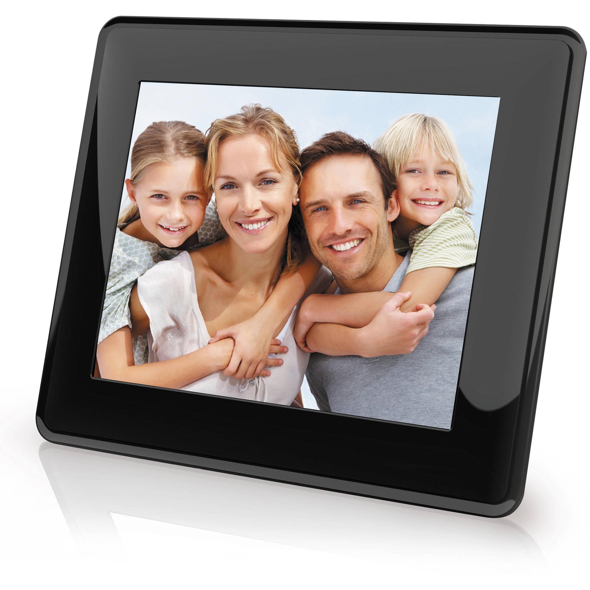 """Coby DP843 8"""" Widescreen Digital Photo Frame (Contemporary)"""