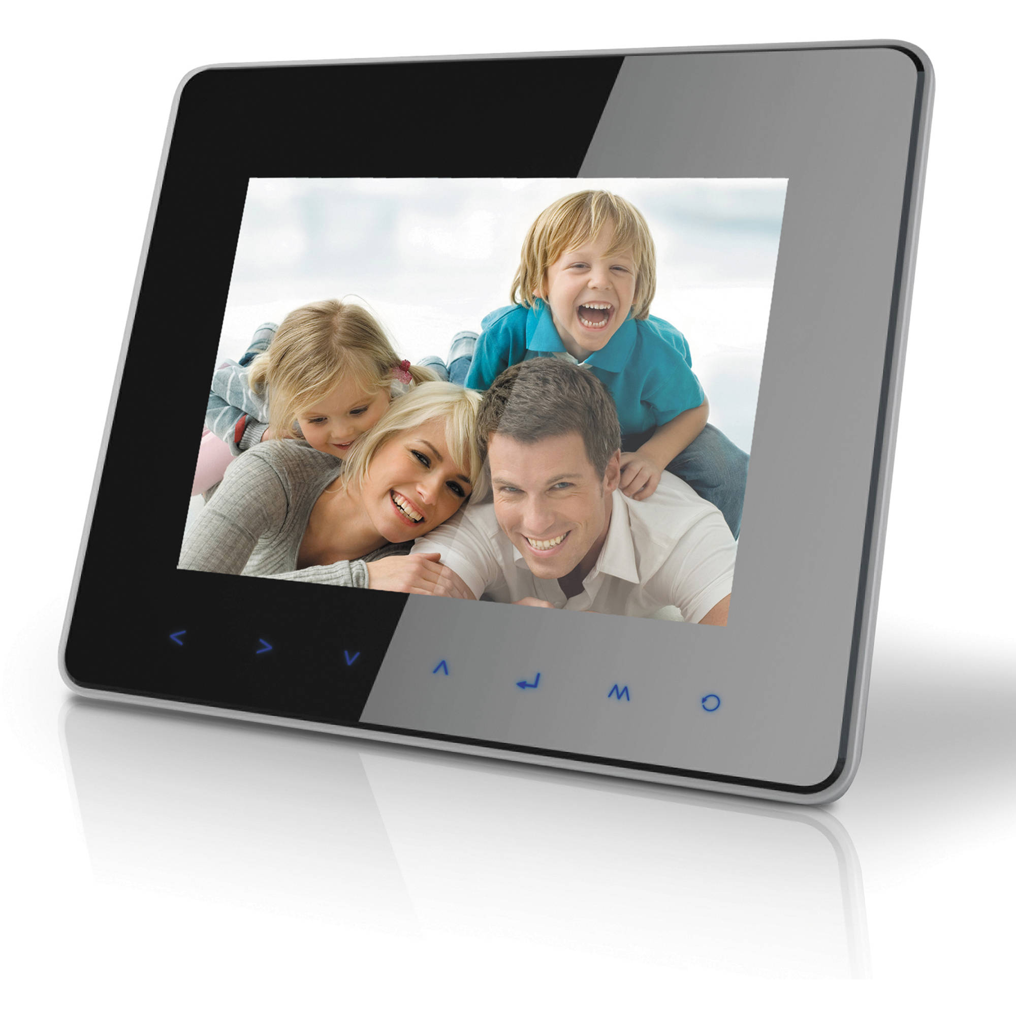 Coby Dp870 8 Digital Photo Frame With Multimedia Dp870 Bh