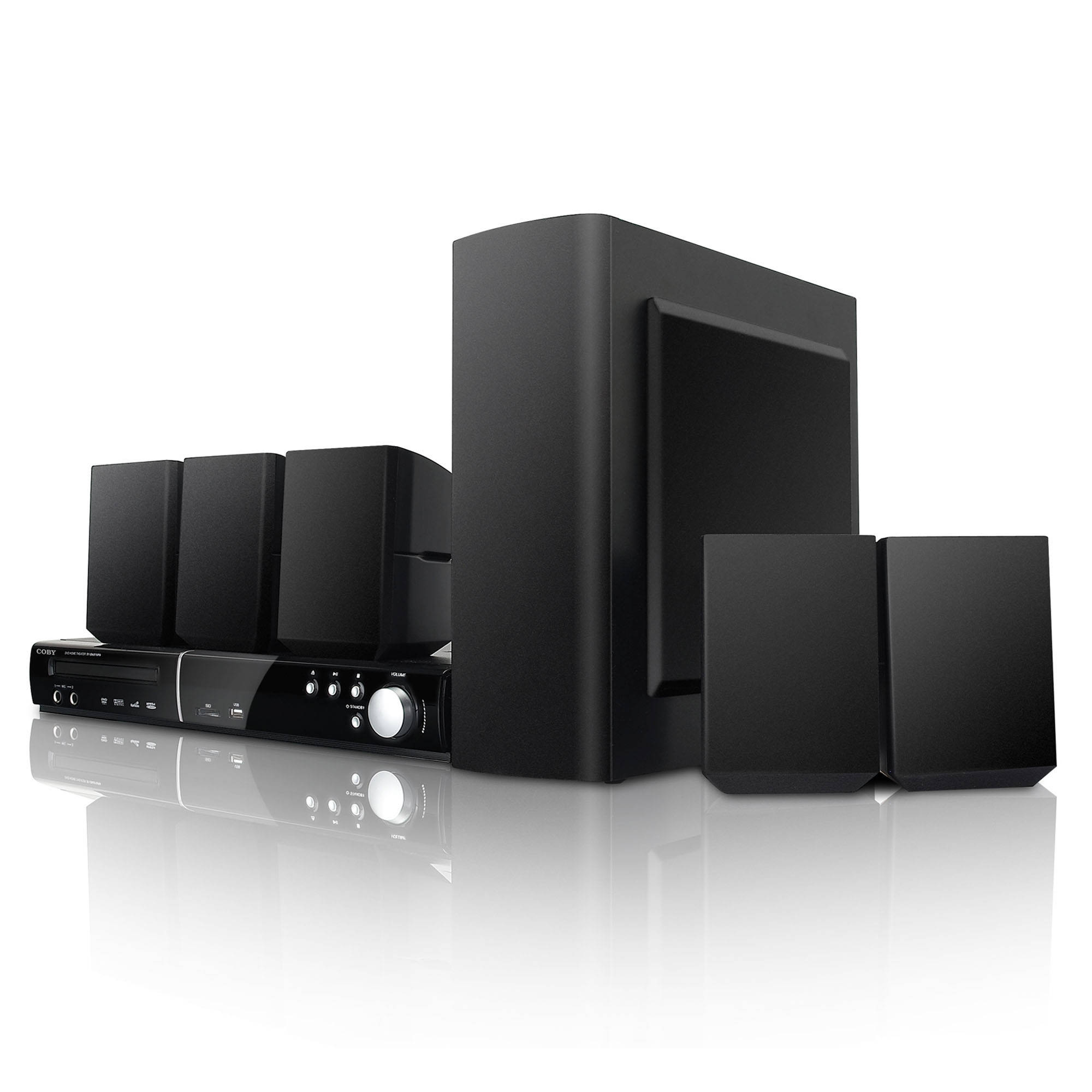 Coby DVD938 5.1-Channel DVD Home Theater System DVD938 B&H