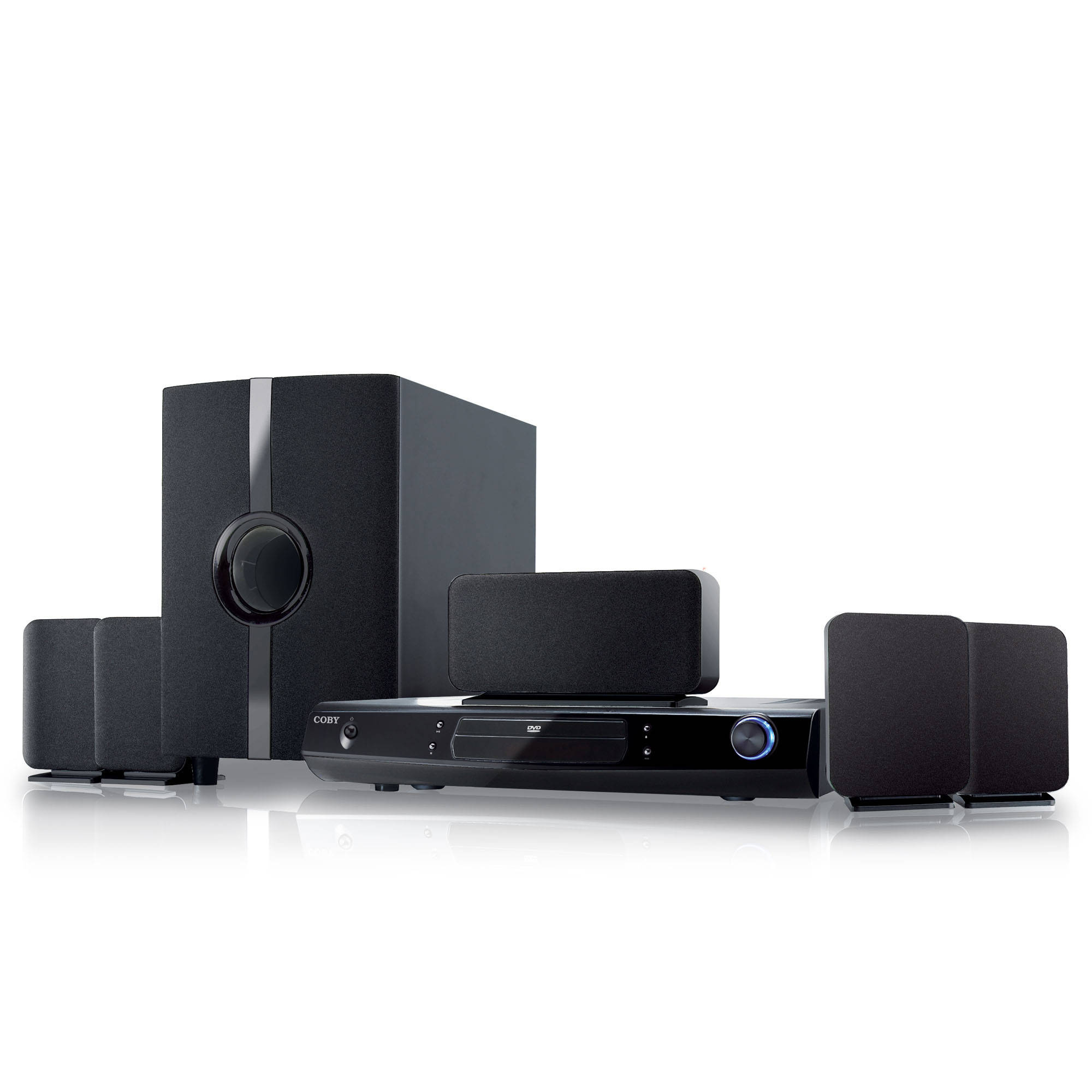 Coby DVD968 5.1-Channel DVD Home Theater System