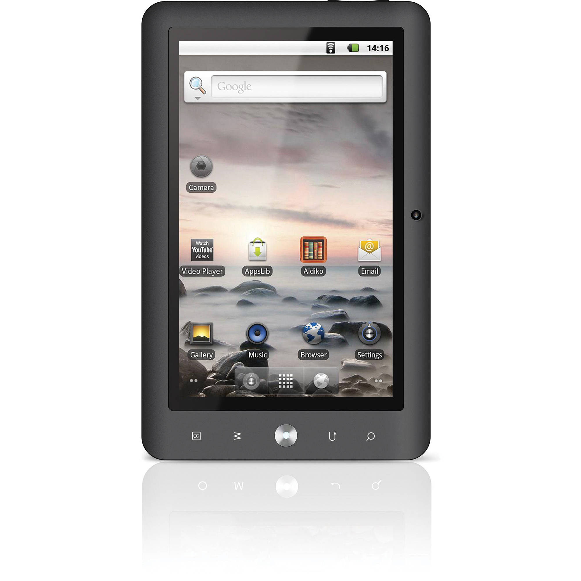 Coby 4GB Kyros Internet 7 Touchscreen Tablet