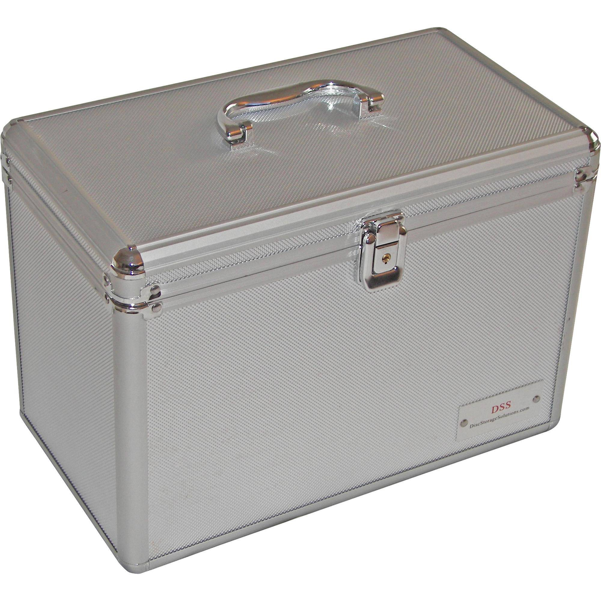 DSS - Disc Storage Solutions DSS-150 PVC DVD Storage Case  sc 1 st  Bu0026H & DSS - Disc Storage Solutions DSS-150 PVC DSS 150 DVD - SILVER