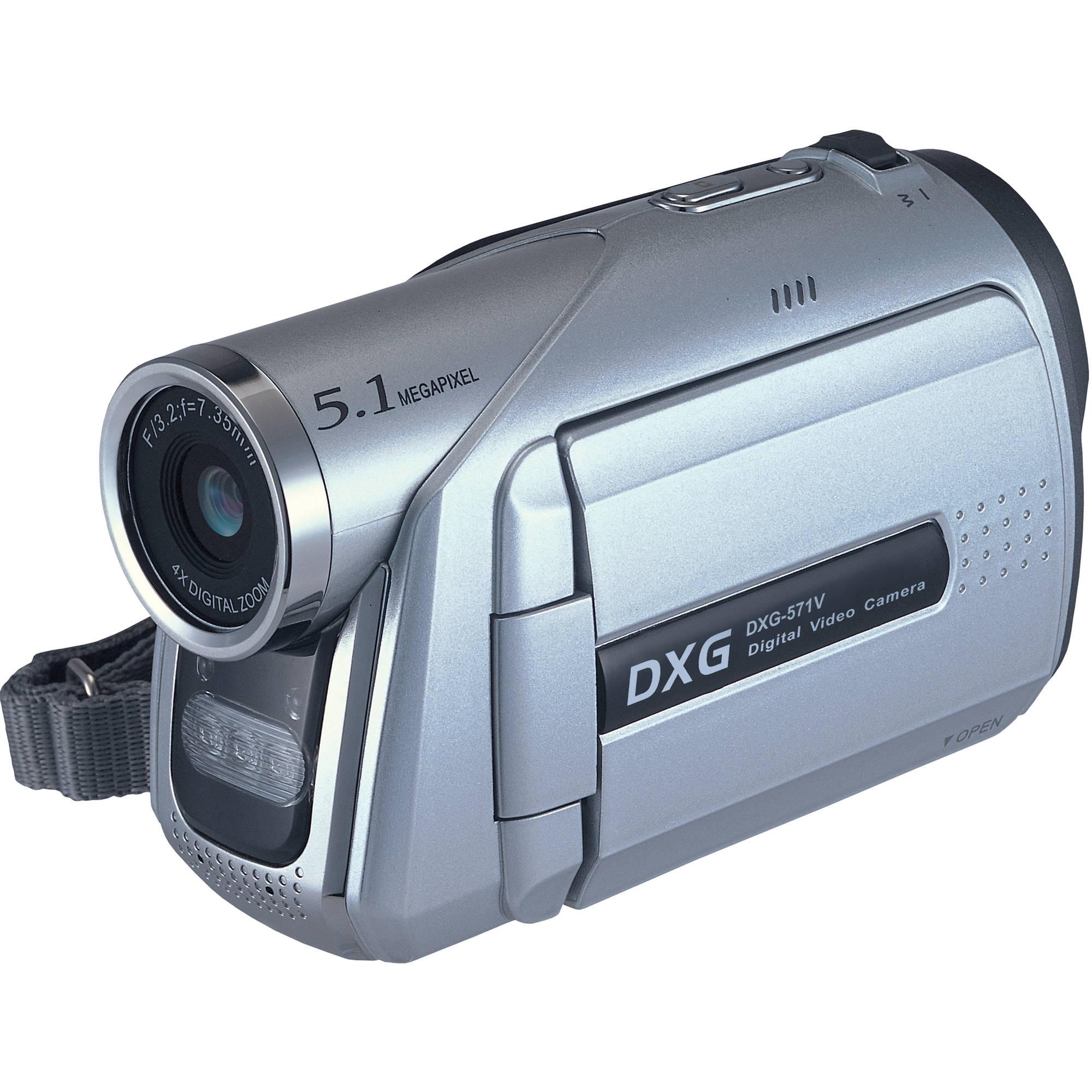 dxg dxg 571v camcorder dxg 571v b h photo video rh bhphotovideo com dxg 3.0 megapixel digital video camera manual Insignia Camera Manual