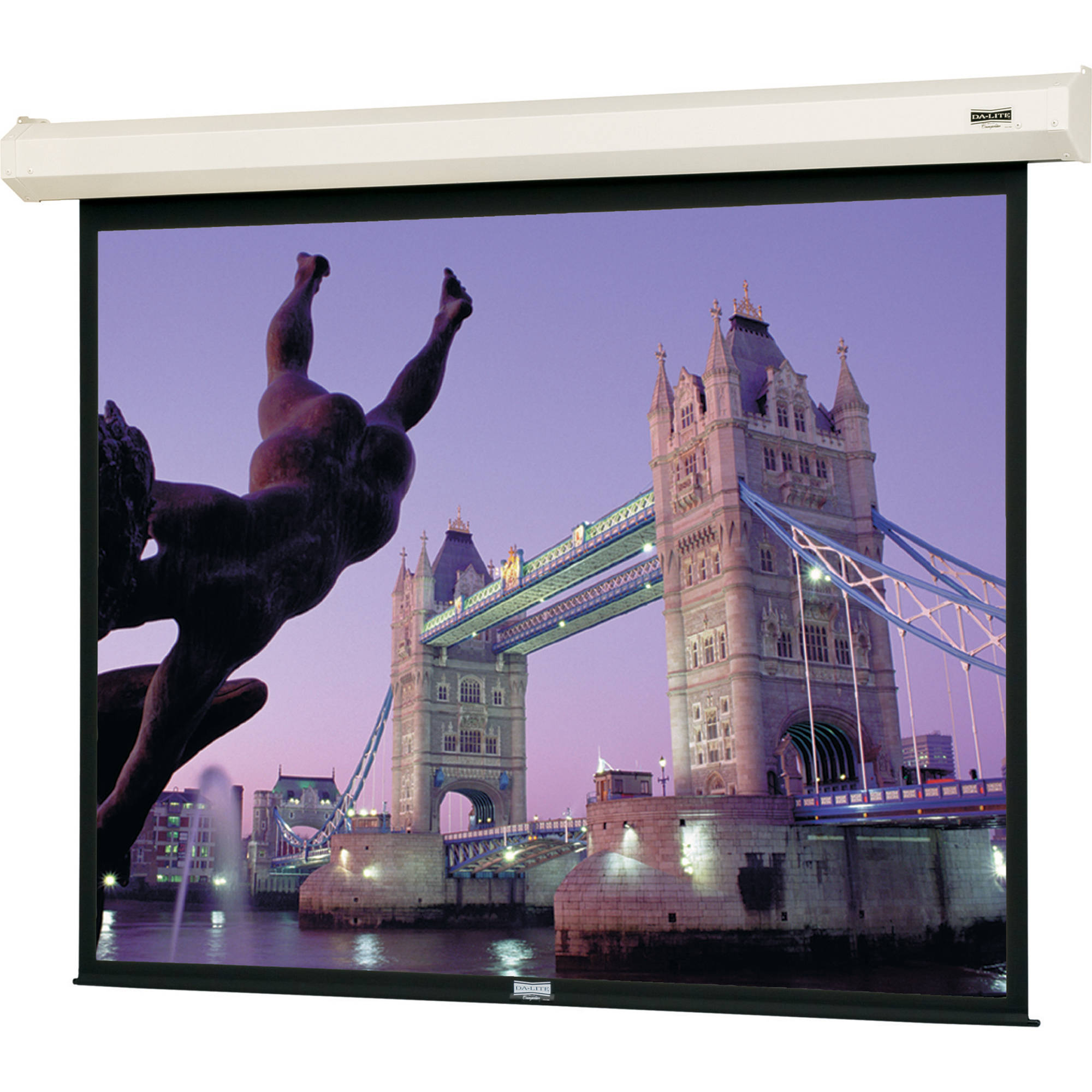 Da Lite 79013 Cosmopolitan Electrol Motorized Projection Screen 58 X 104
