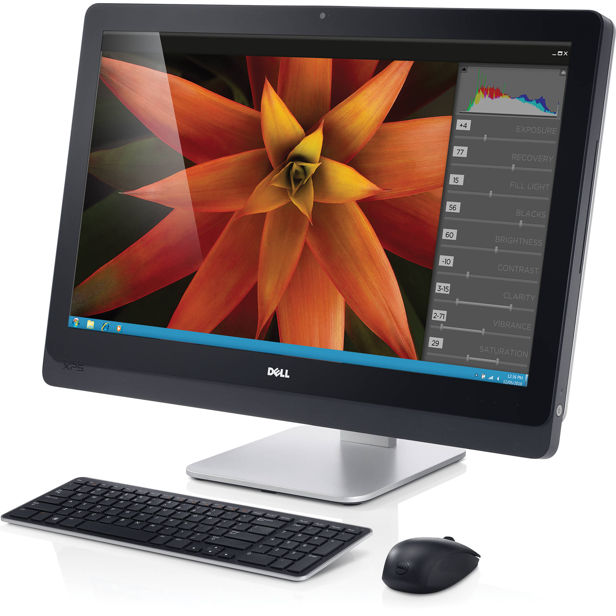 dell xps one 27 all in one desktop computer xpso27 2942bk. Black Bedroom Furniture Sets. Home Design Ideas