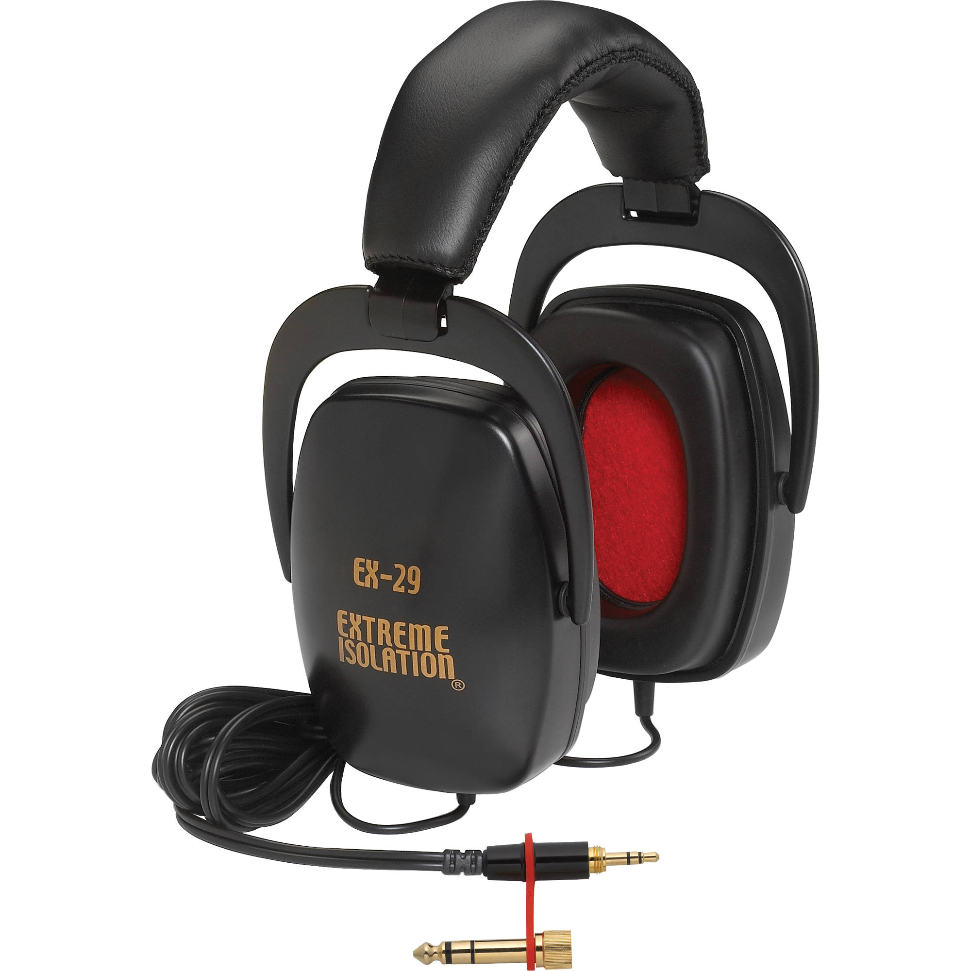 direct sound ex 29 extreme isolation stereo headphones ex 29 b h
