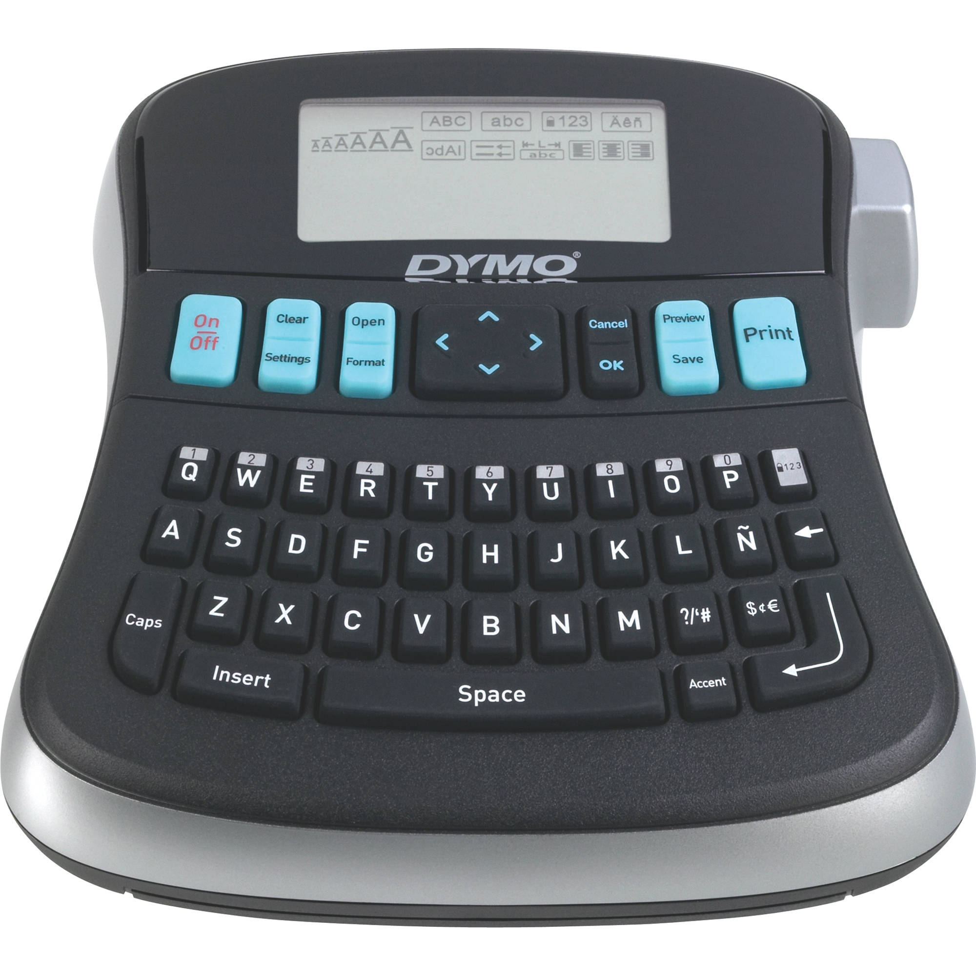 Dymo labelmanager 210d all purpose label maker 1738345 bh for Dymo custom labels