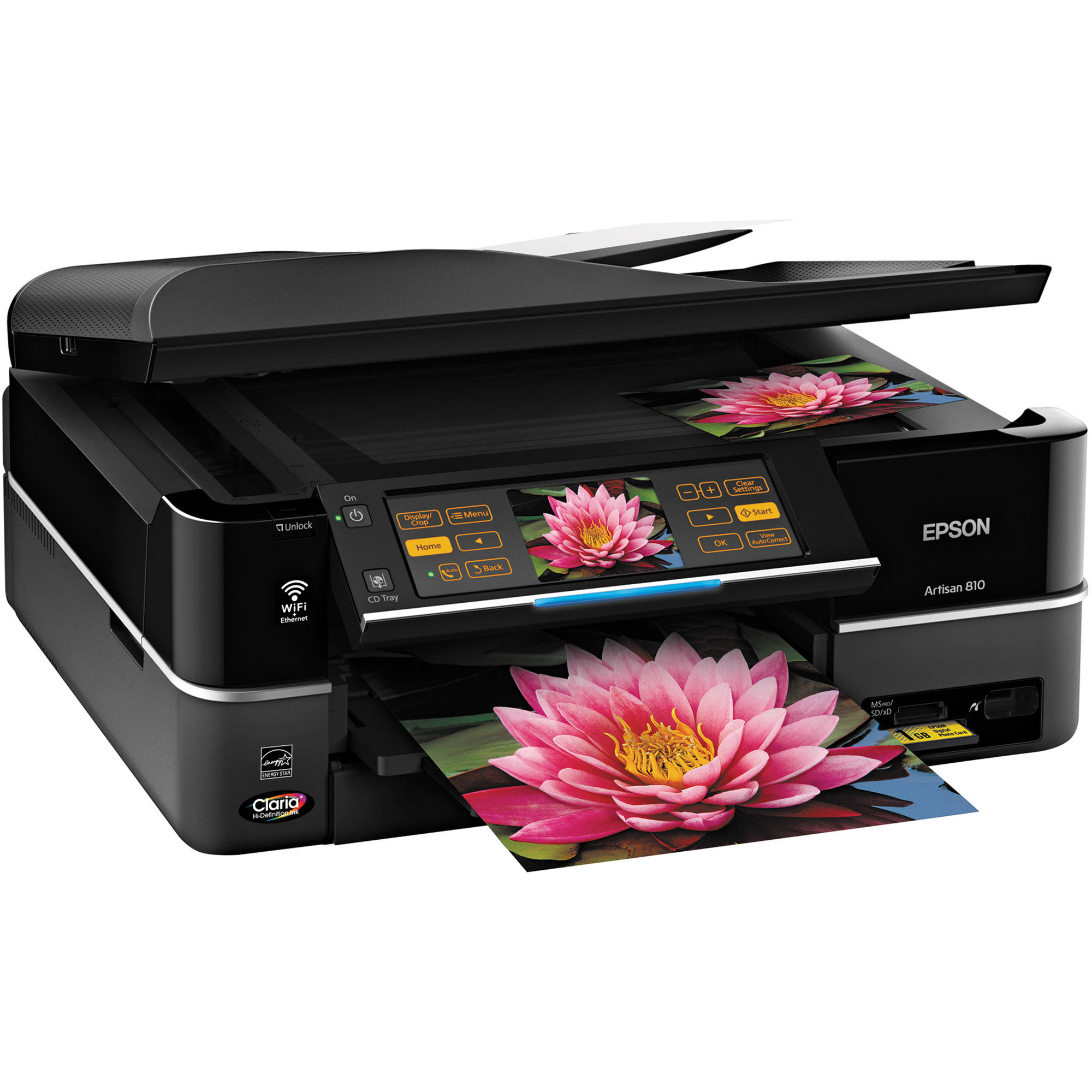 epson artisan 810 all in one printer c11ca52201 b h photo video rh bhphotovideo com epson artisan 810 manual download epson artisan 810 manual feeder