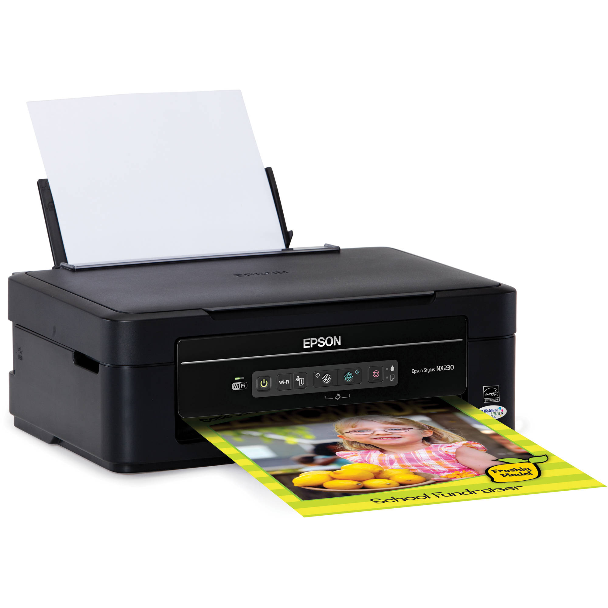 epson stylus nx230 small in one printer c11cb23201 b h photo rh bhphotovideo com epson stylus nx230 owners manual Epson Stylus NX420