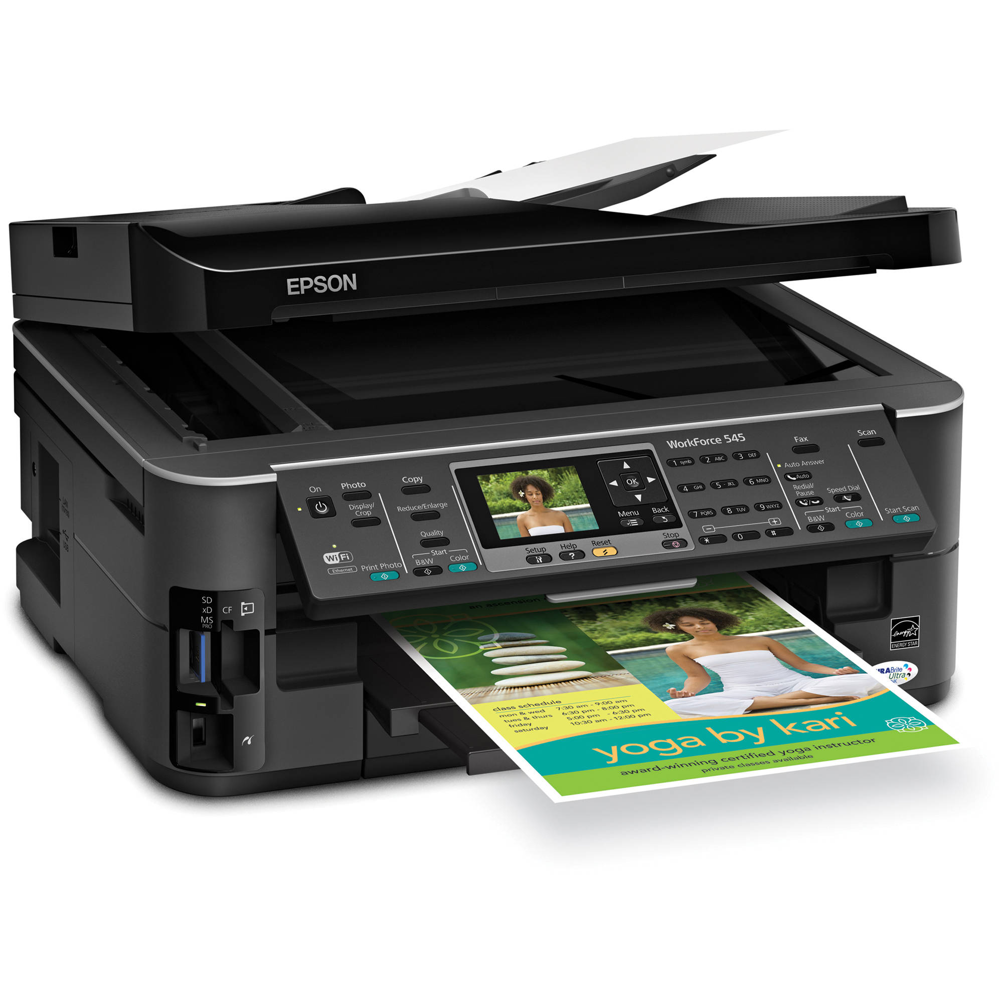 epson workforce 545 all in one color inkjet printer c11cb88201 rh bhphotovideo com