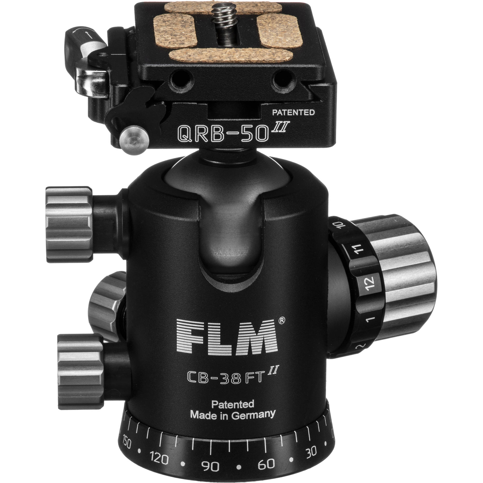 FLM CB 38 FTR Ball Head With QRP 50 Quick Release System