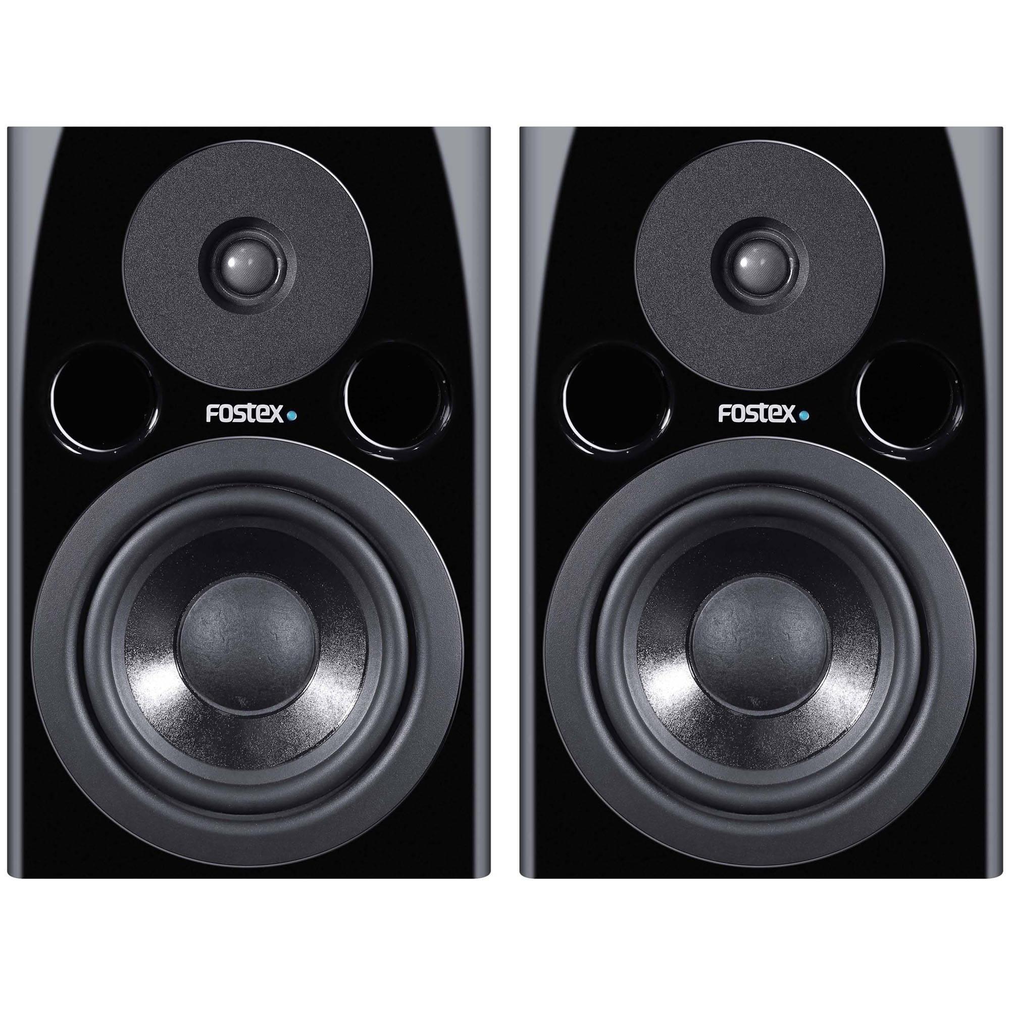 "Fostex PM0.5n 70W 5"" Active Nearfield Studio Monitor Speaker (Pair, Black"
