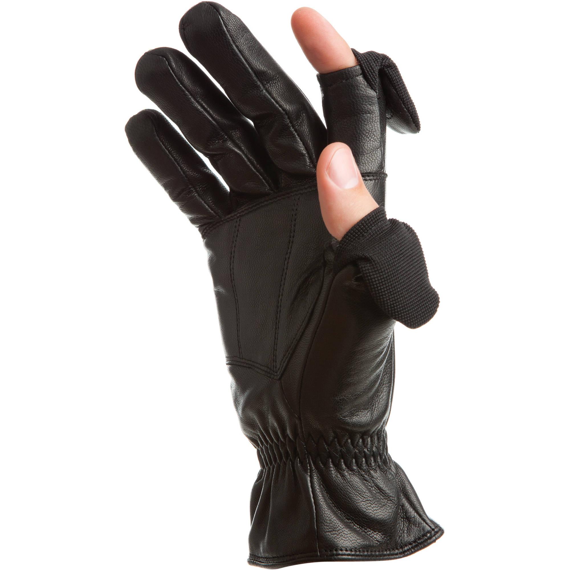 Black leather gloves small - Freehands Men S Leather Gloves Medium Black