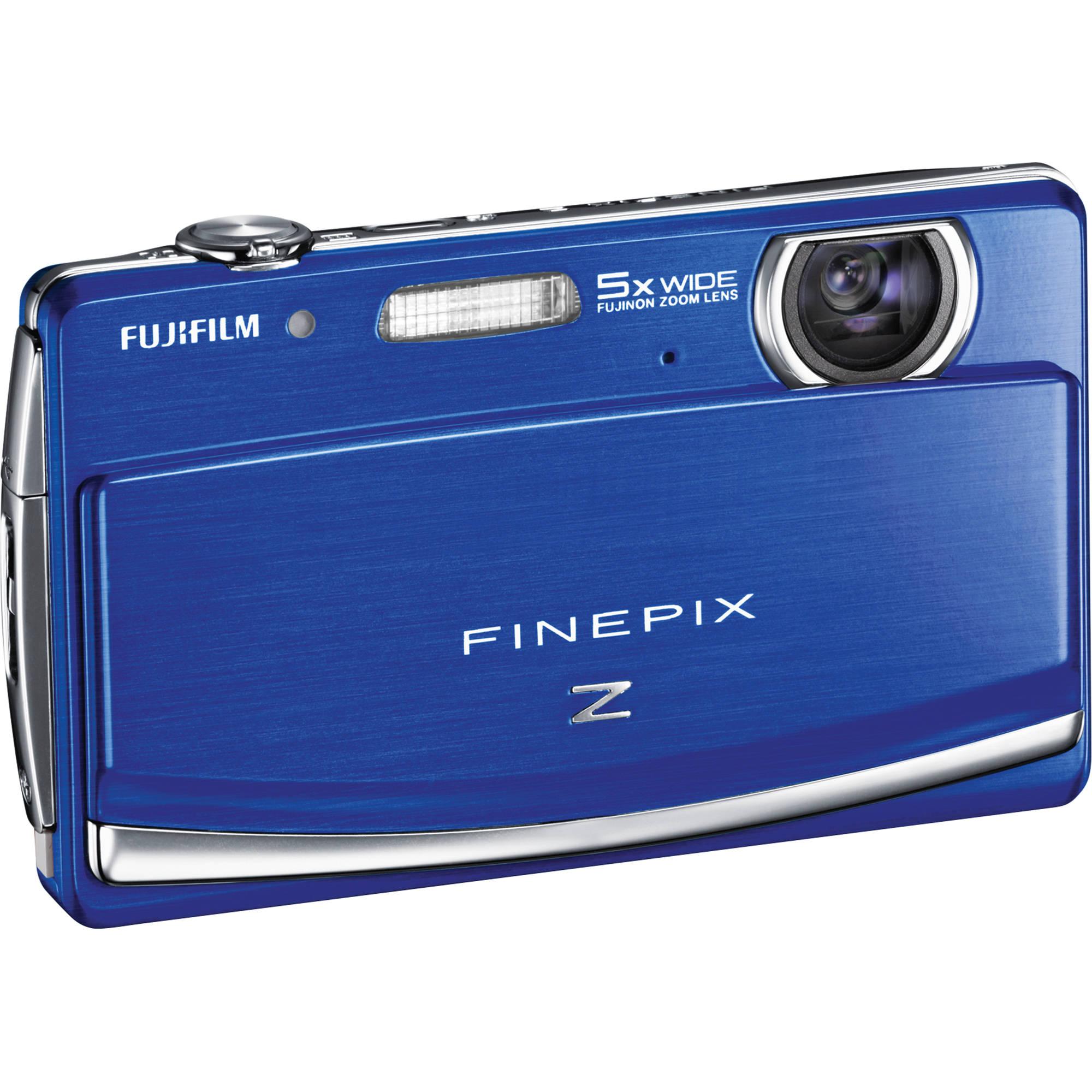 fujifilm finepix z90 digital camera blue 16125864 b h photo rh bhphotovideo com Fuji FinePix Software Fuji FinePix SL 1000