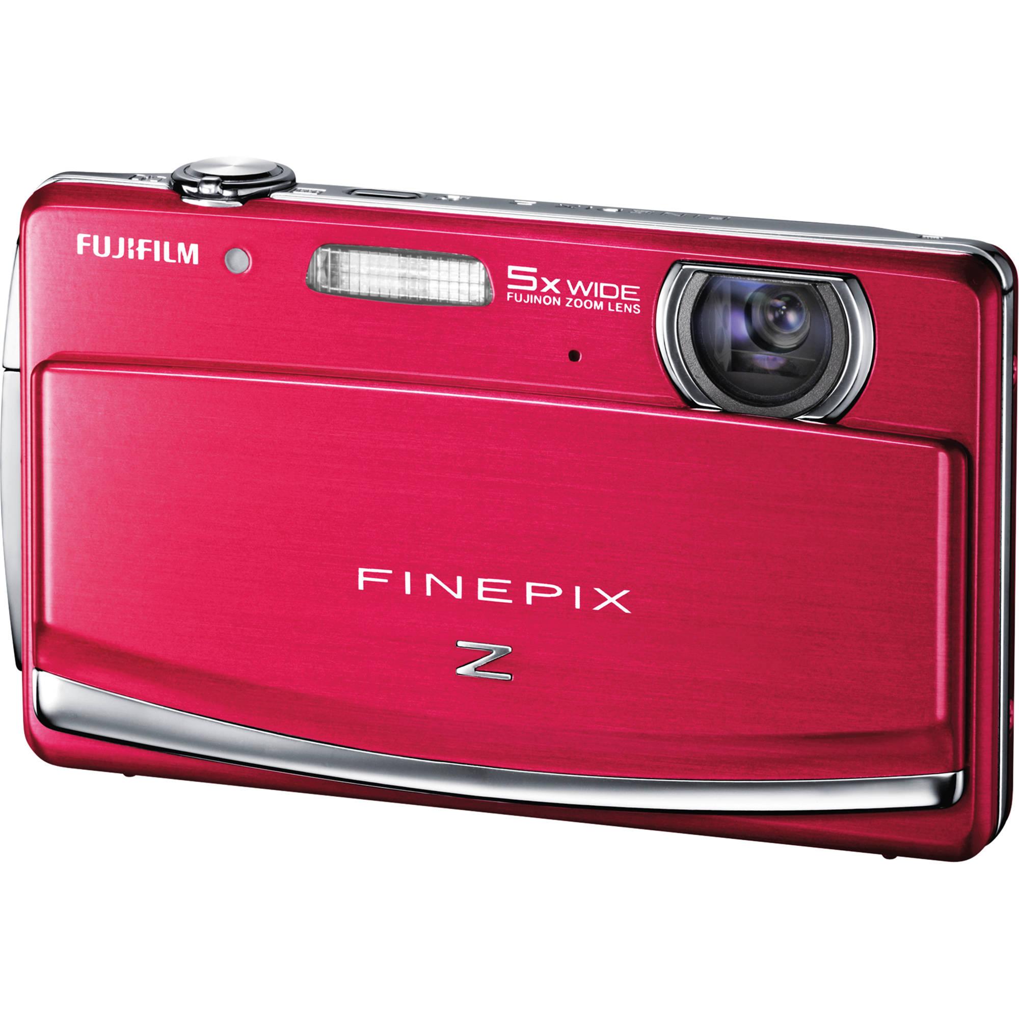 fujifilm finepix z90 digital camera red 16126284 b h photo rh bhphotovideo com Fuji FinePix 14MP Fuji FinePix HS25EXR