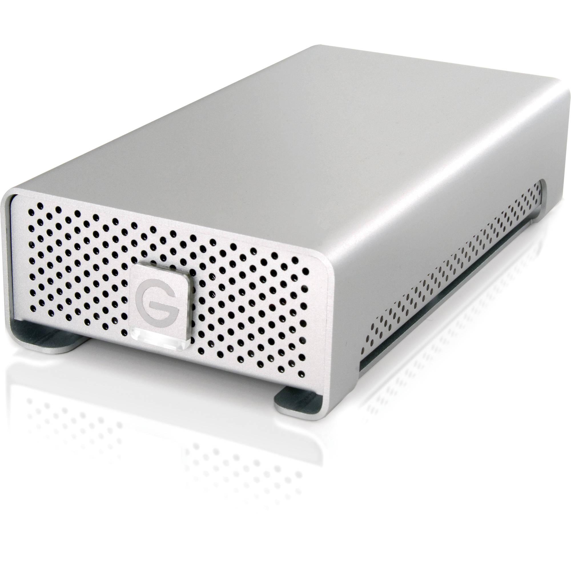 G-Technology G-RAID mini 2TB Dual-Drive Storage System 0G02616