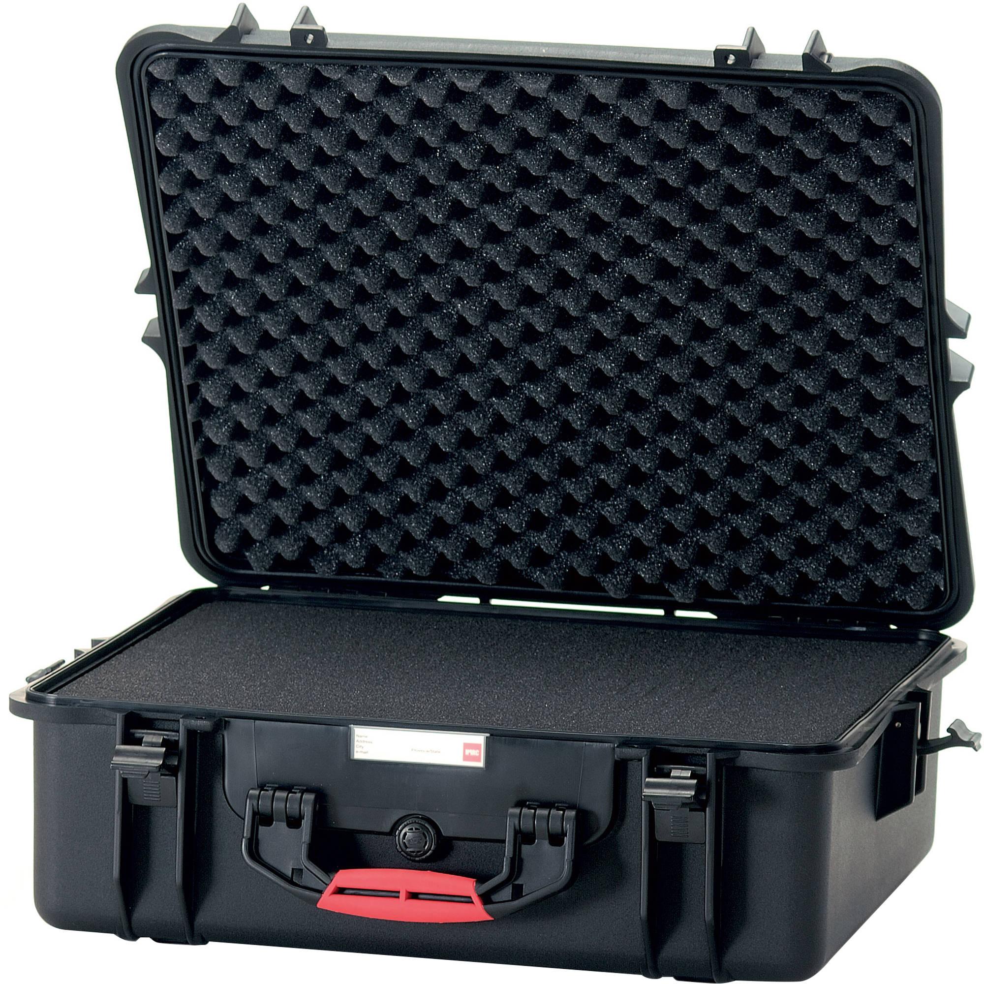 hprc 2700f hard case with cubed foam interior hprc2700cubblk b h