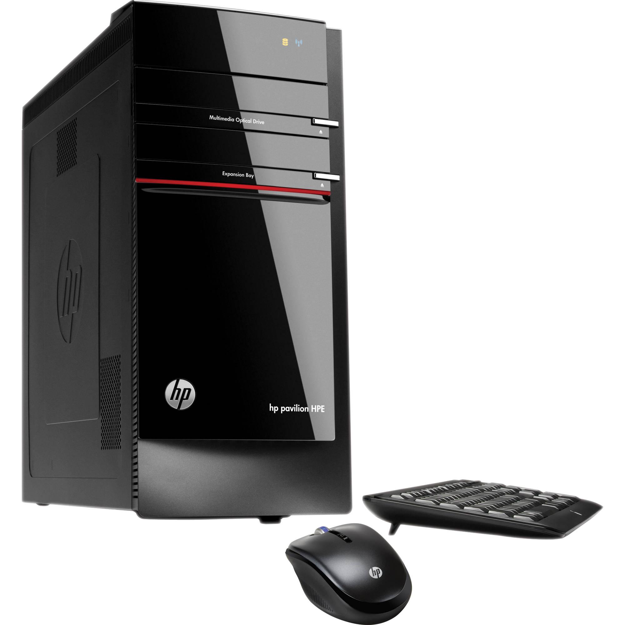 Hp Pavilion Elite H8 1020 Desktop Computer Qn559aa Aba B Amp H