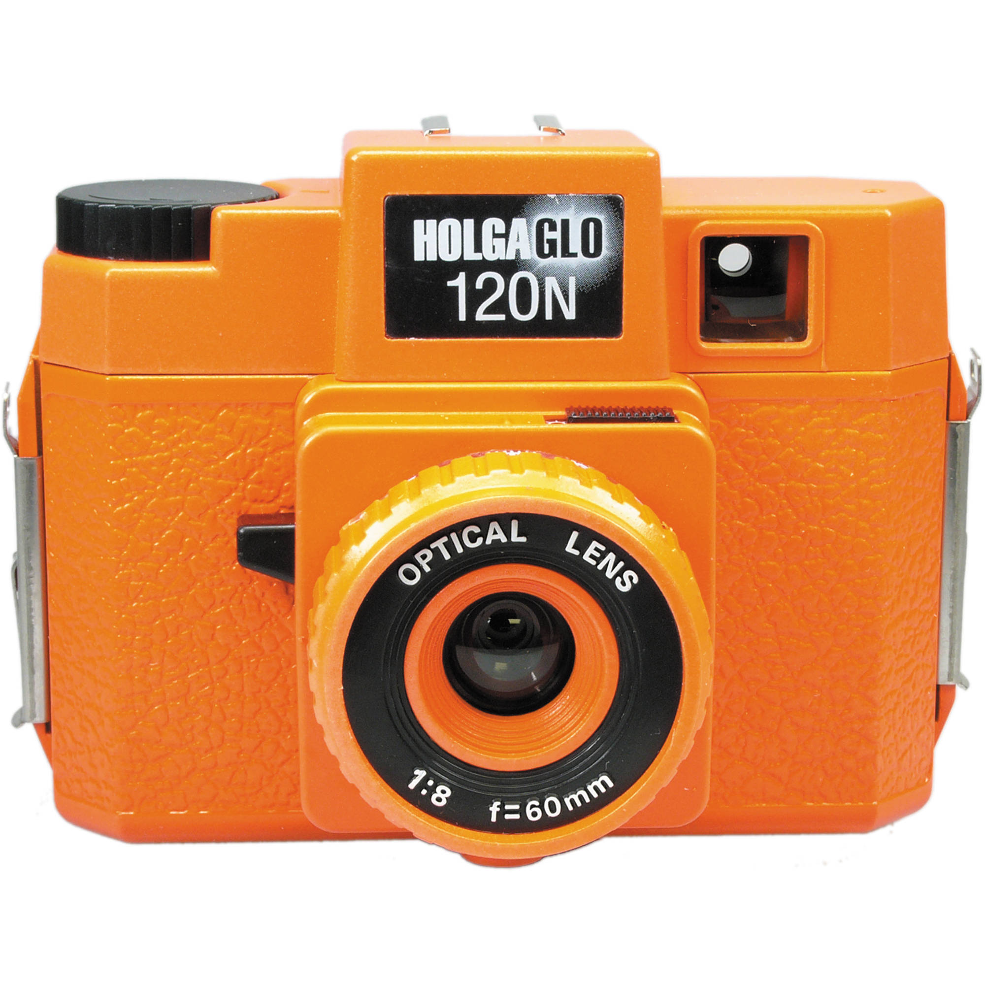 HolgaGlo 120N Glows in the Dark Camera (Aura Orange)