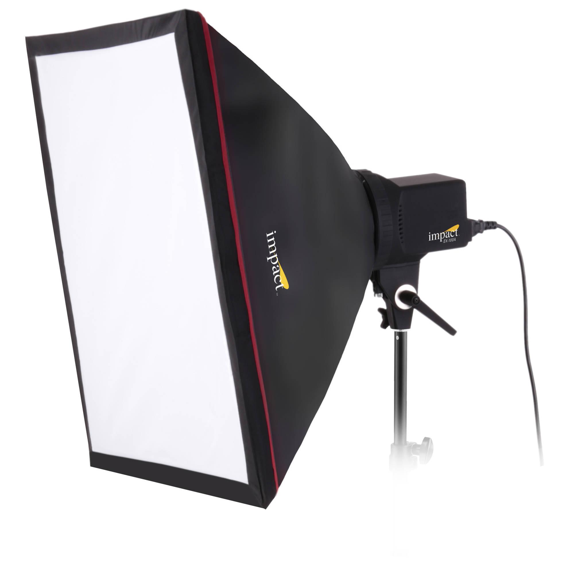 Creative Umbrella Softbox: Impact One-Monolight Kit (120 VAC) EX100A-KI B&H Photo Video