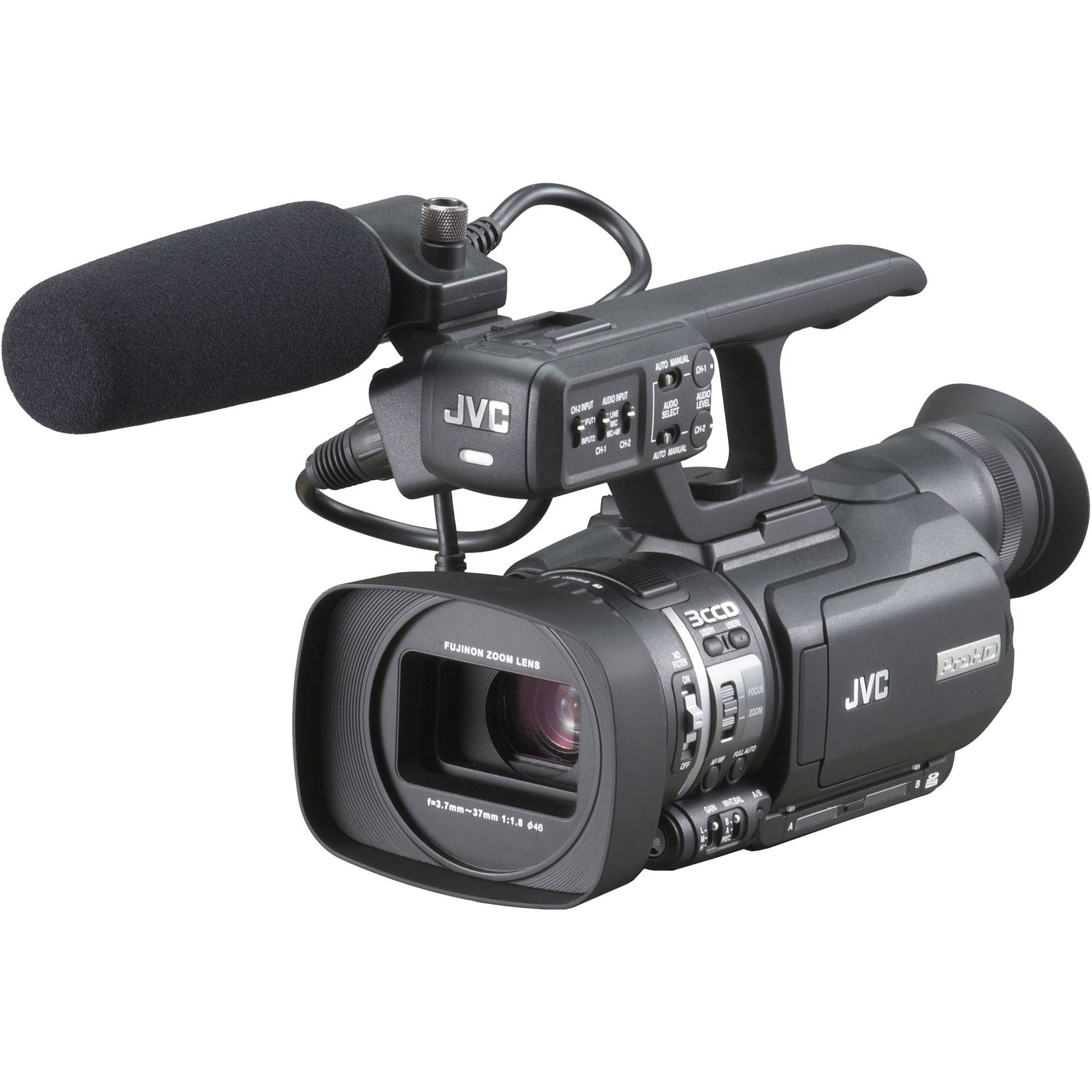 c product  REG JVC GY HMU ProHD Camcorder
