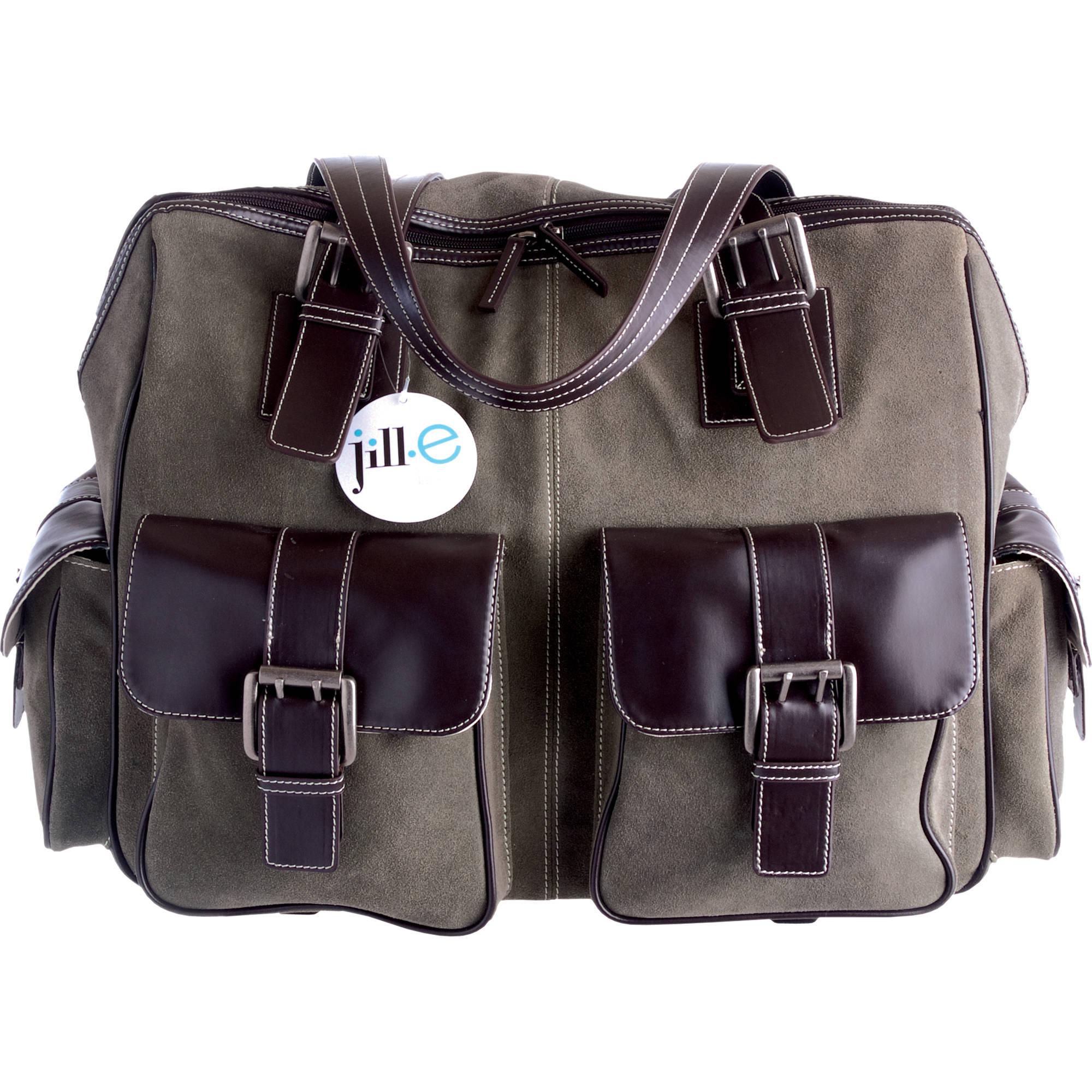 Jill E Designs Large Rolling Camera Bag Moss Green